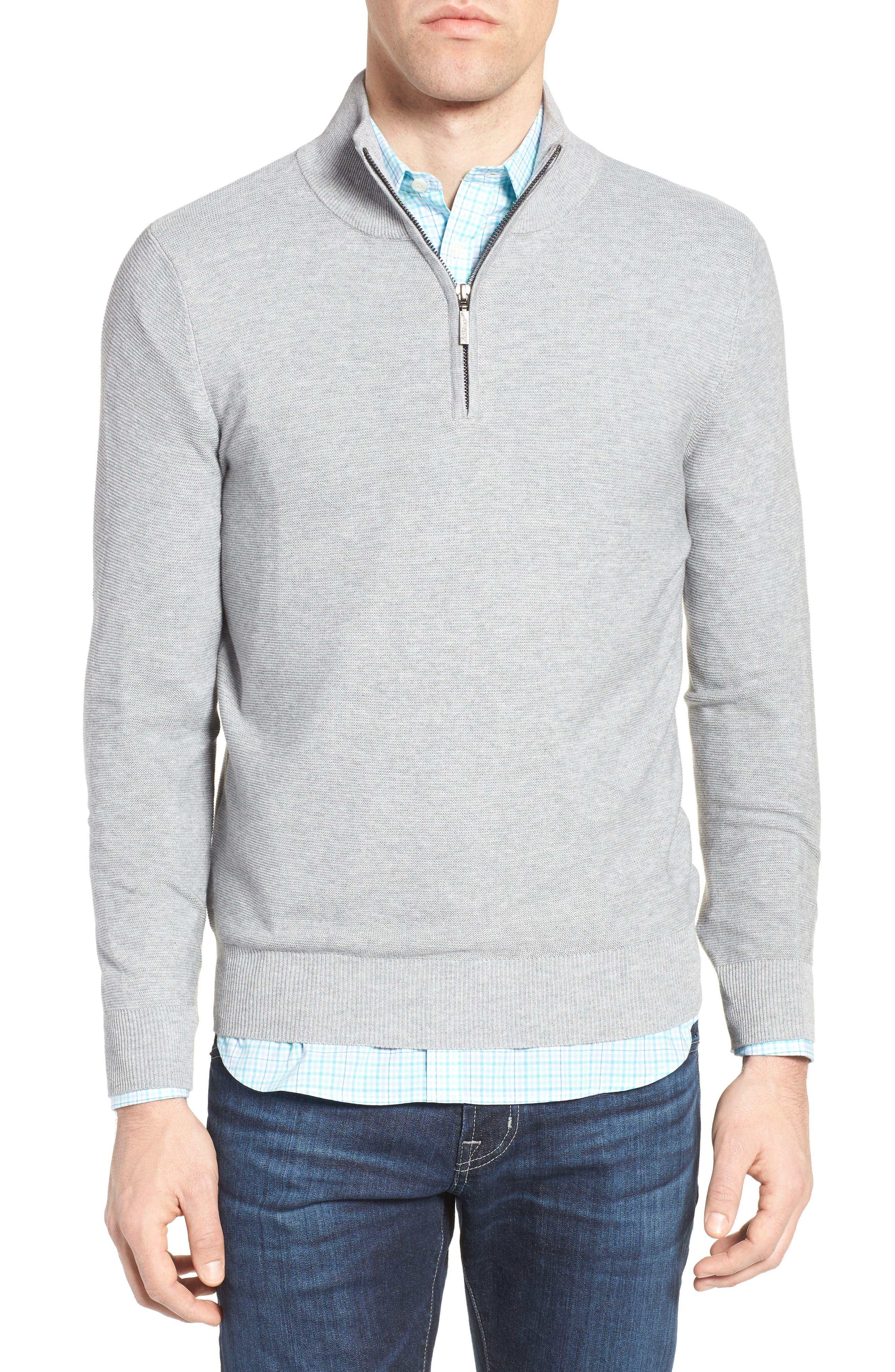Quarter Zip Sweater,                             Main thumbnail 1, color,                             051