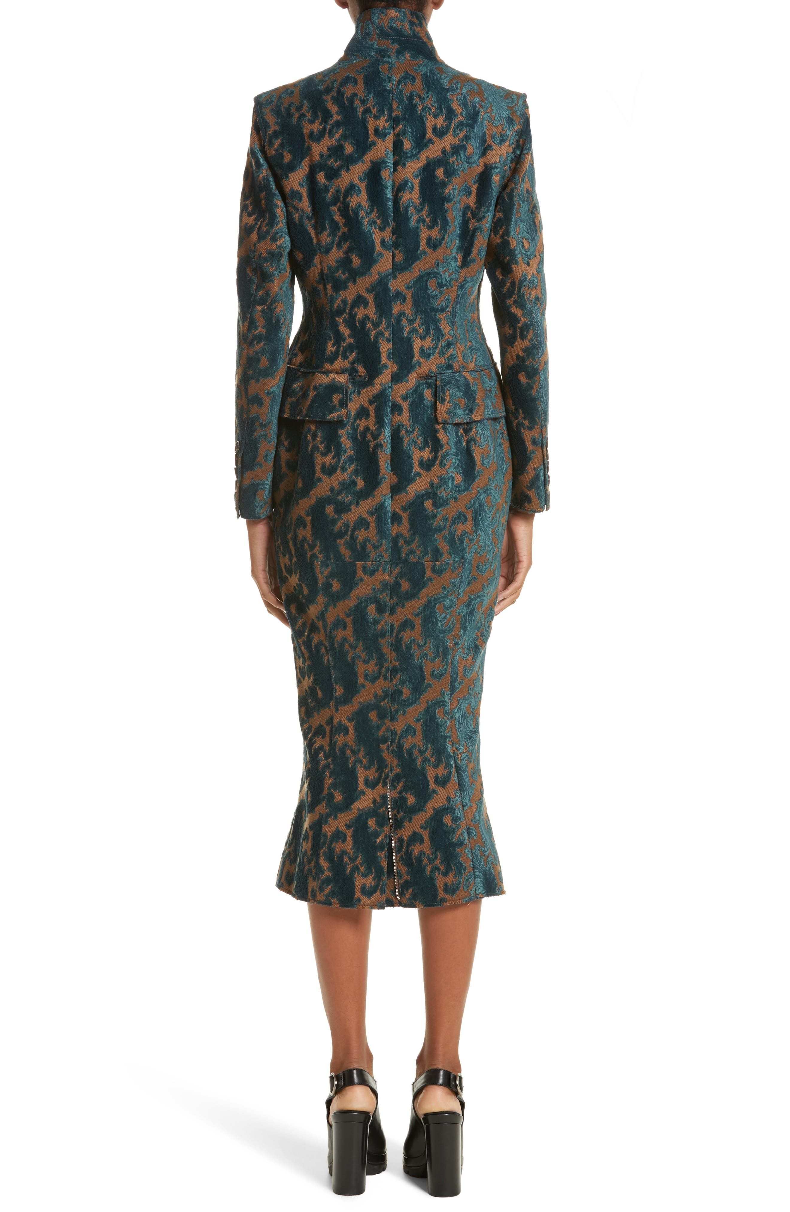Detachable Sleeve Coat Dress,                             Alternate thumbnail 2, color,                             960