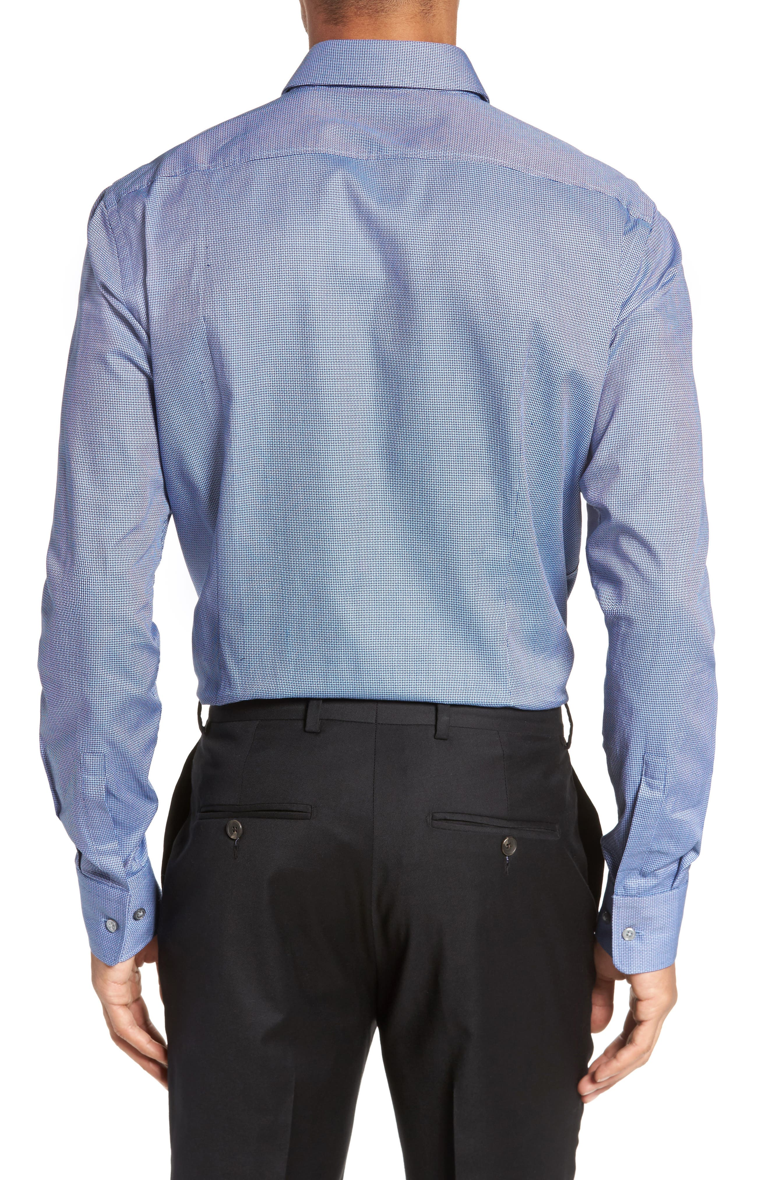 Marley Sharp Fit Solid Dress Shirt,                             Alternate thumbnail 2, color,                             410