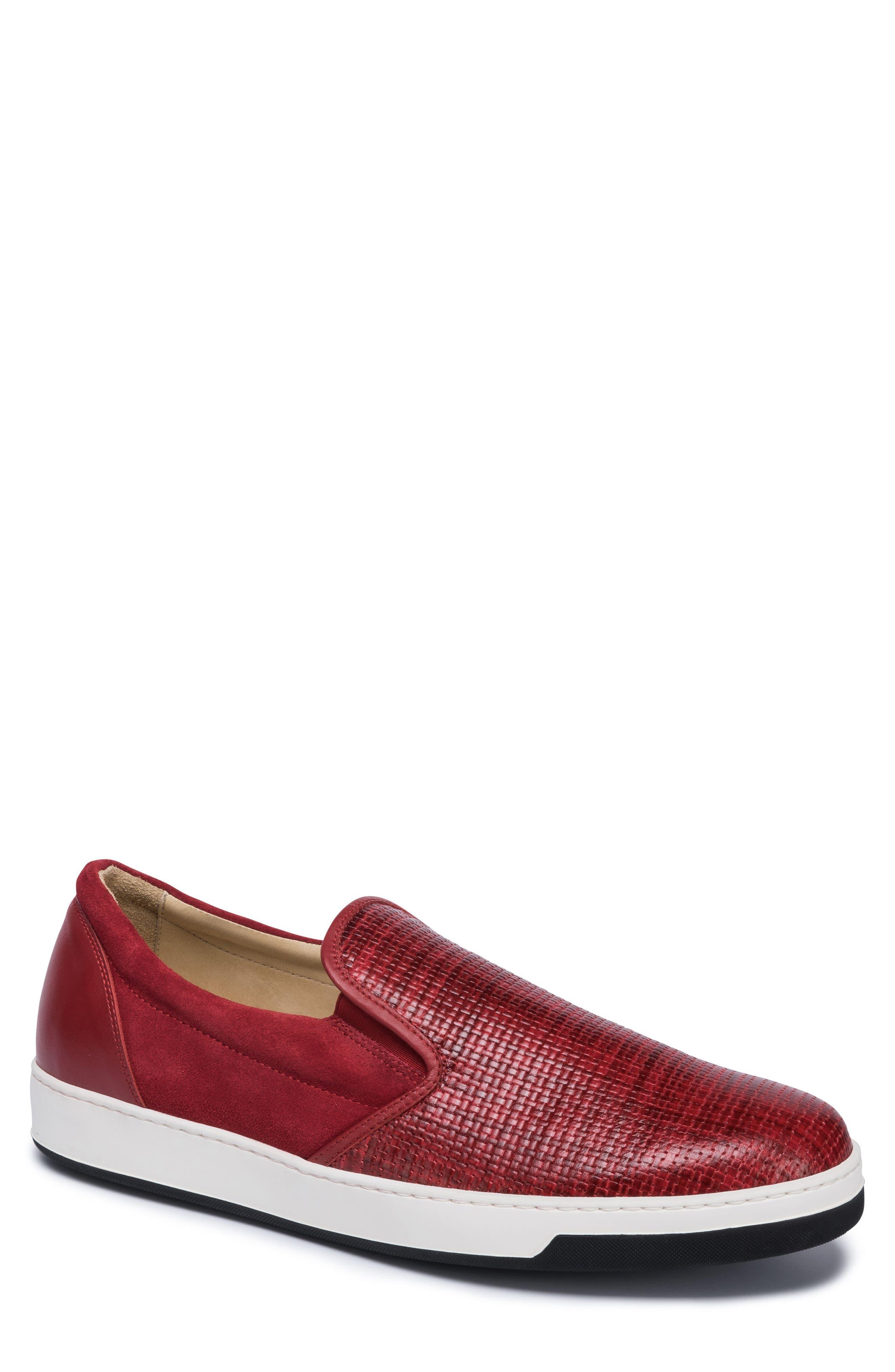 Cinque Terre Woven Slip-On Sneaker,                             Main thumbnail 3, color,