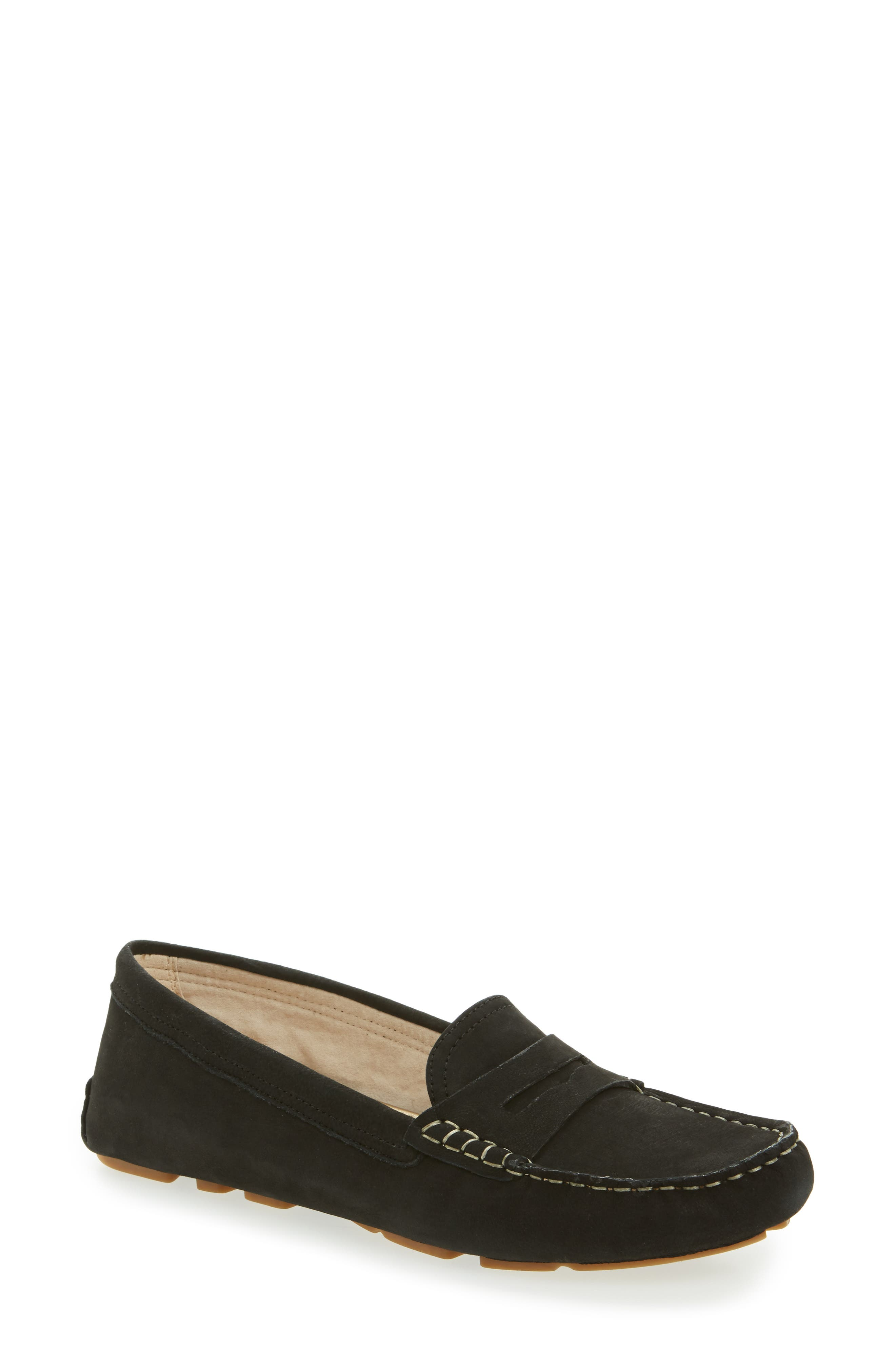 Filly Moc Toe Loafer,                             Main thumbnail 1, color,                             001