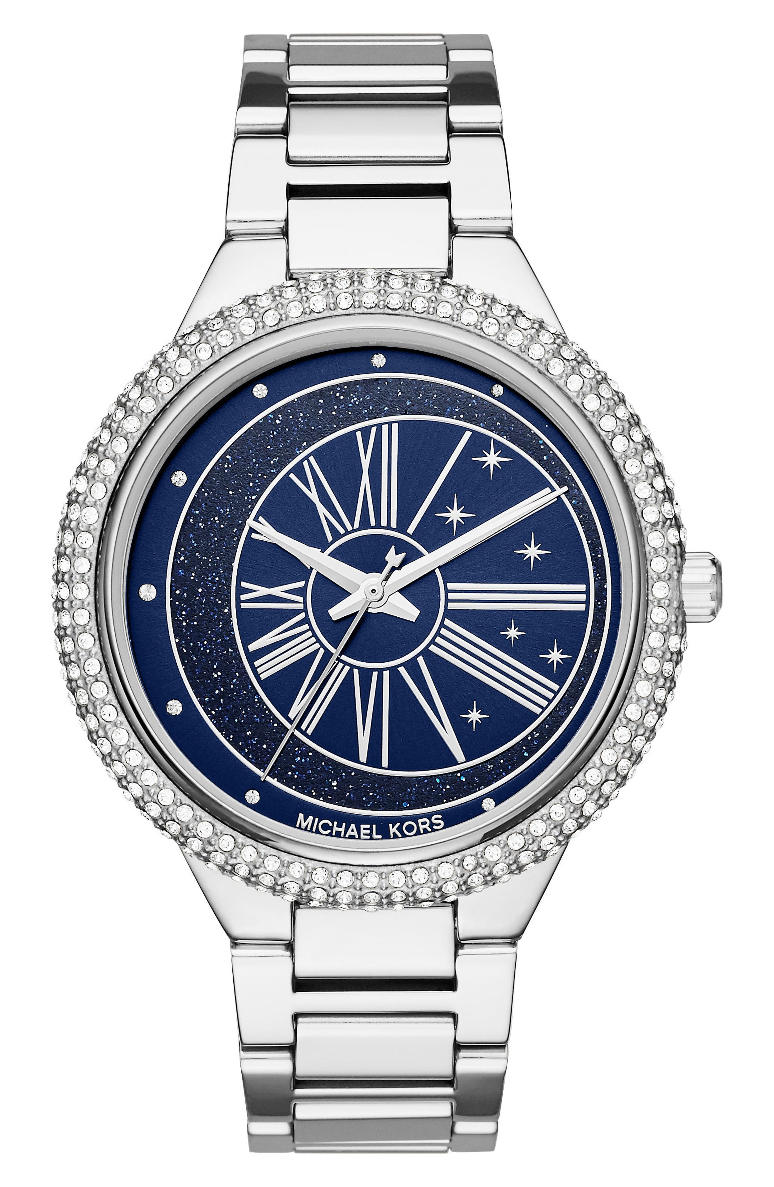 Taryn Crystal Bracelet Watch, 40mm,                             Main thumbnail 1, color,                             040