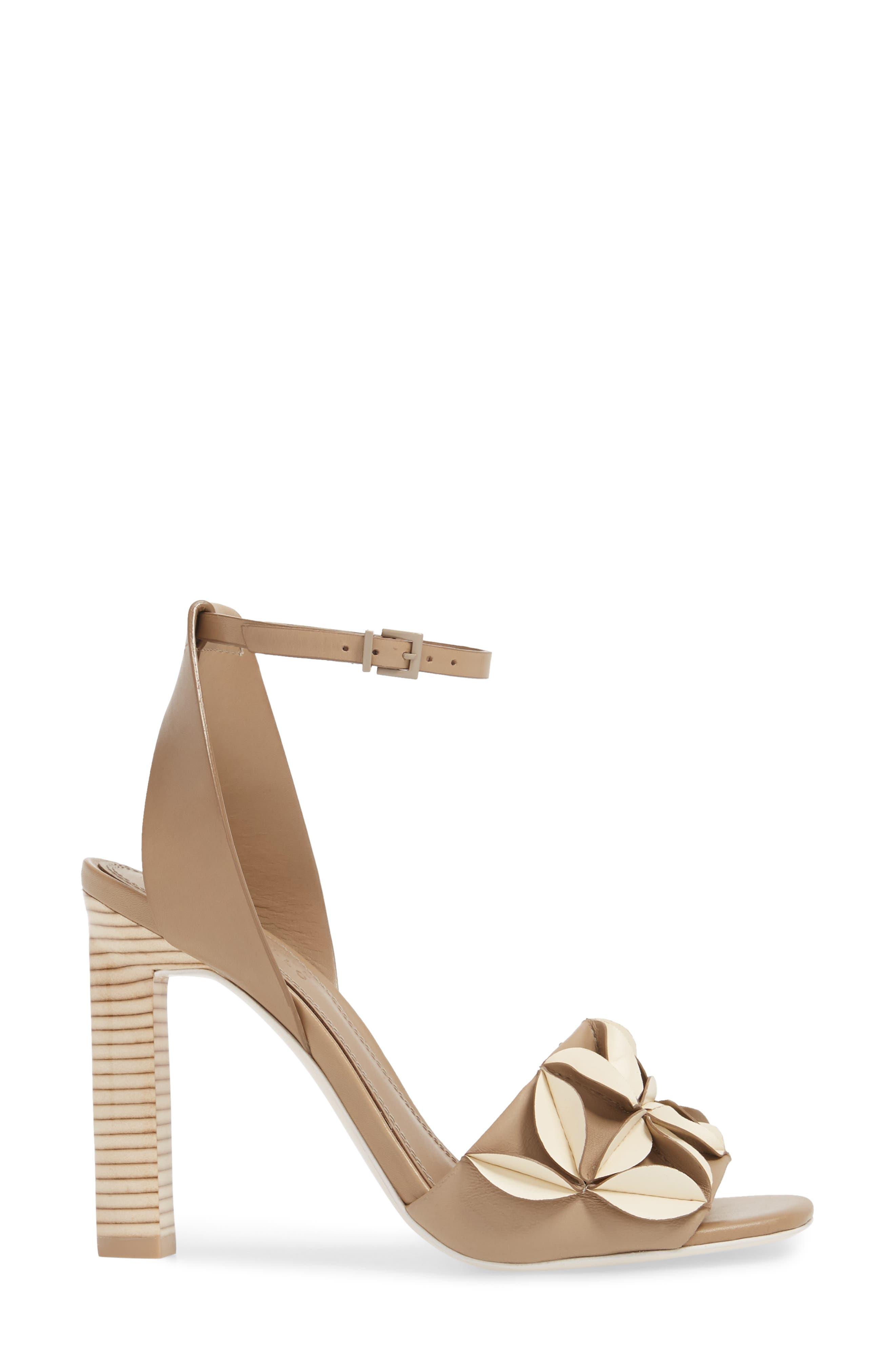 Milee Ankle Strap Sandal,                             Alternate thumbnail 3, color,                             250
