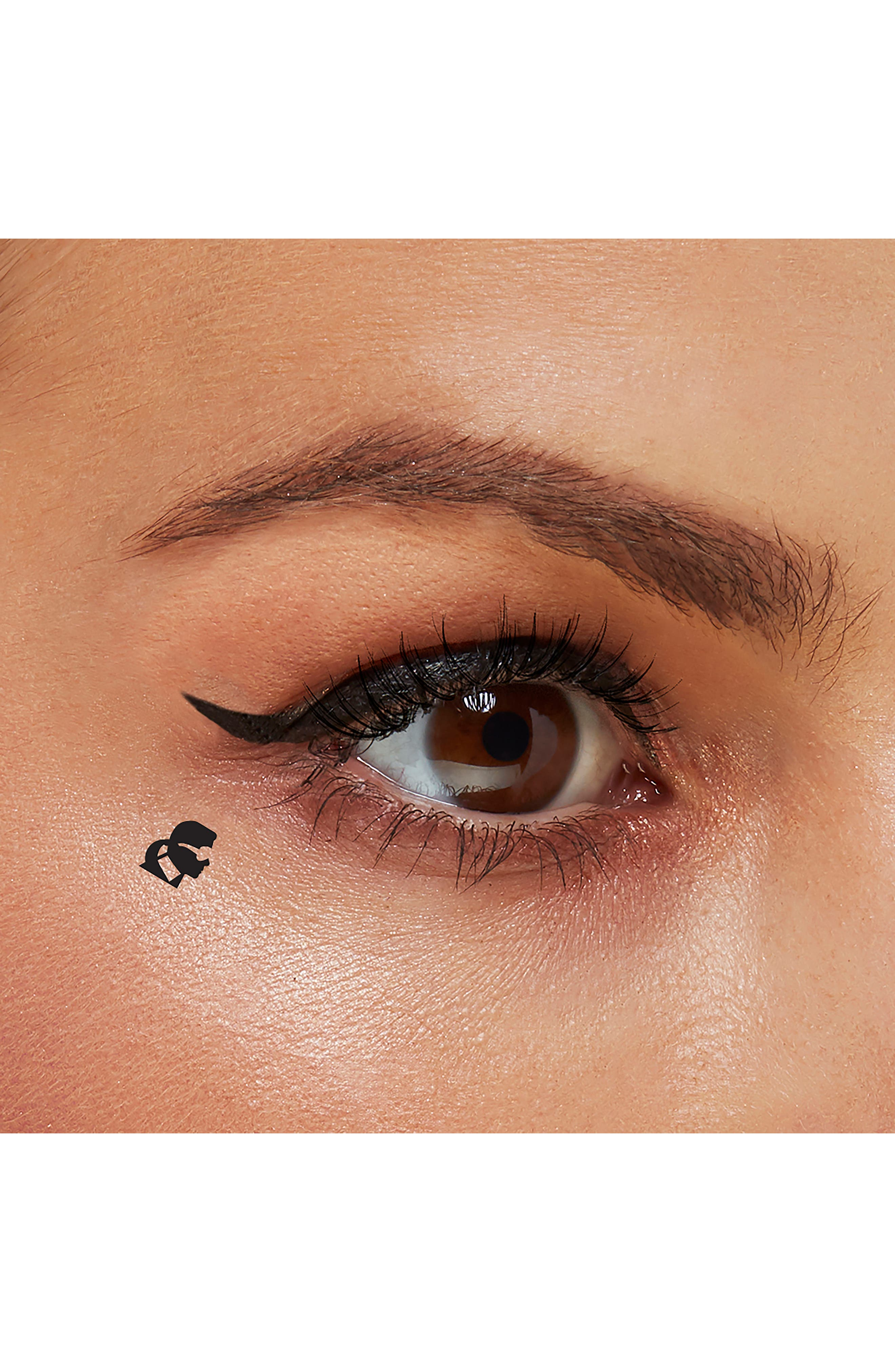 KARL LAGERFELD + MODELCO Kiss Me Karl Liquid Liner and Beauty Stamp,                             Alternate thumbnail 8, color,                             CHOUPETTE