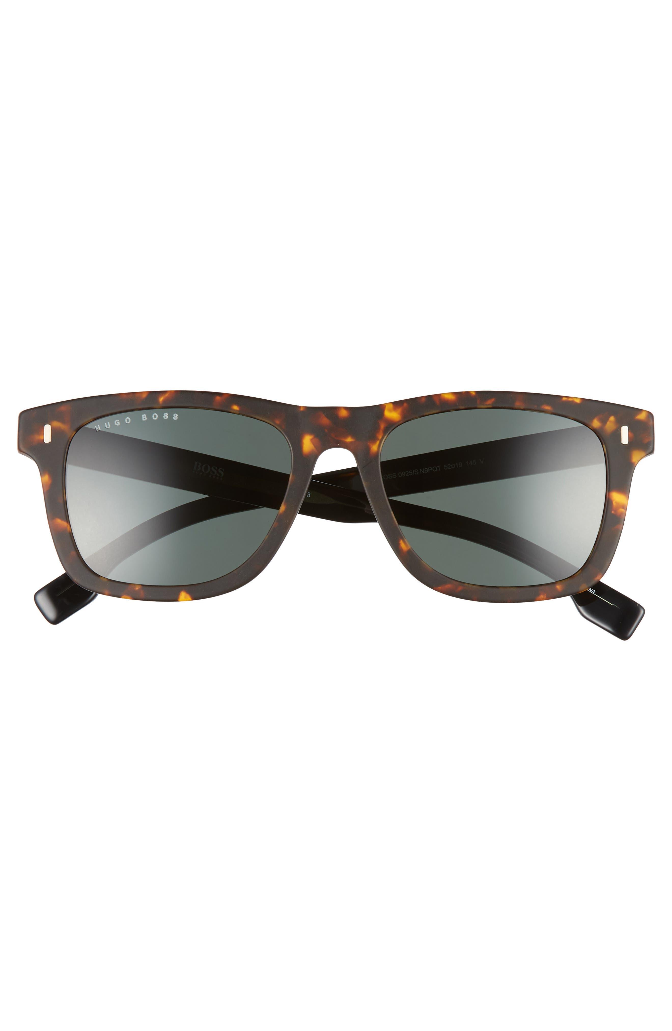 52mm Sunglasses,                             Alternate thumbnail 2, color,                             MATTE HAVANA