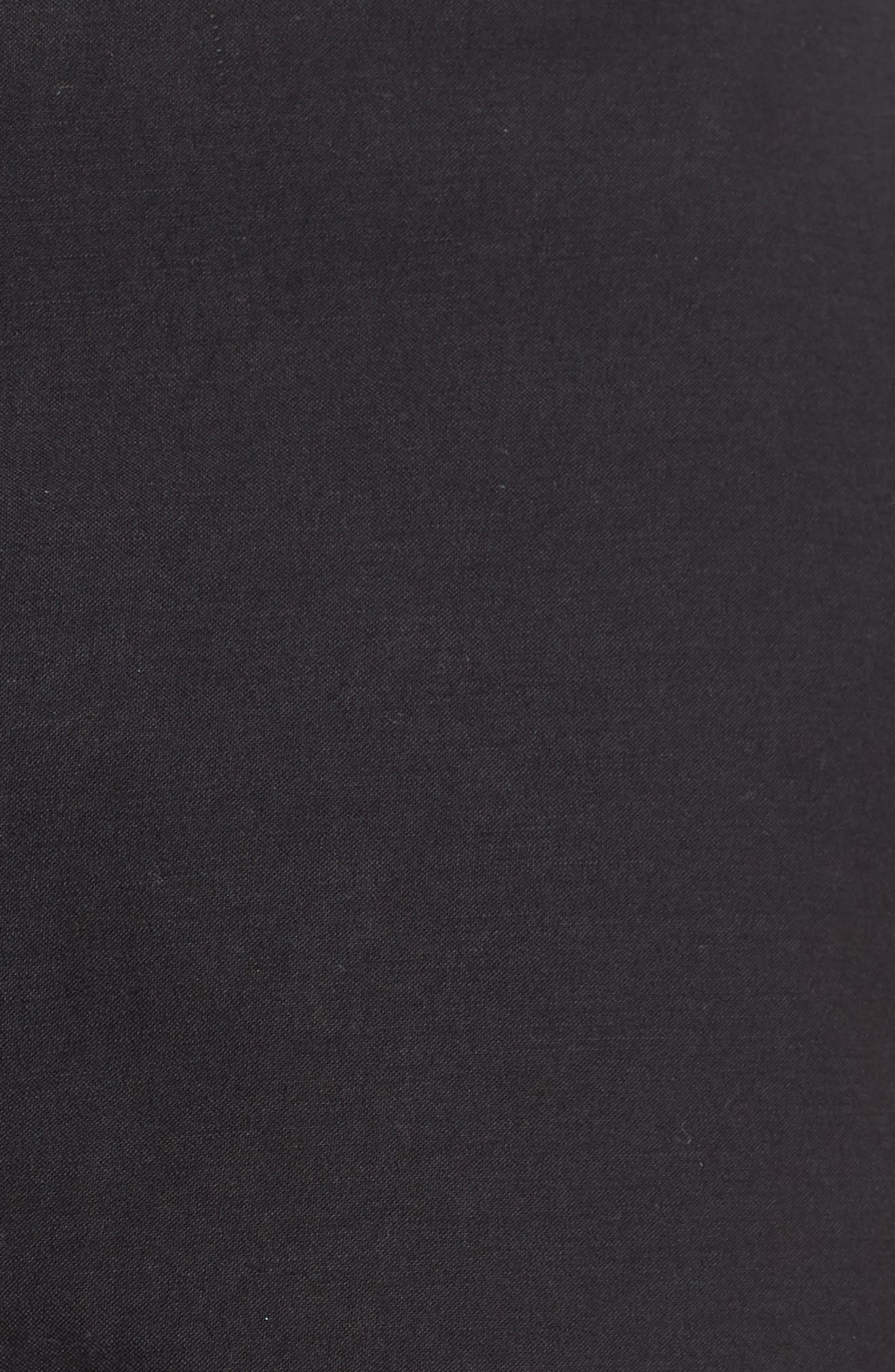 Compact Stretch Cotton Shorts,                             Alternate thumbnail 5, color,                             020