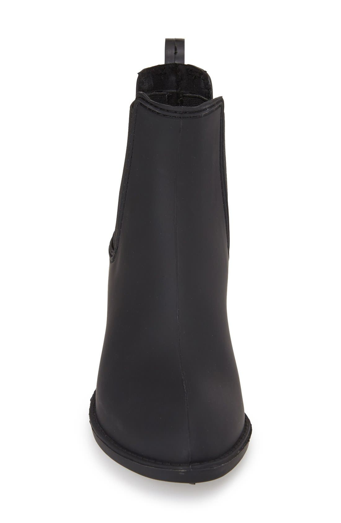 Stormy Waterproof Rain Boot,                             Alternate thumbnail 2, color,                             BLACK MATTE