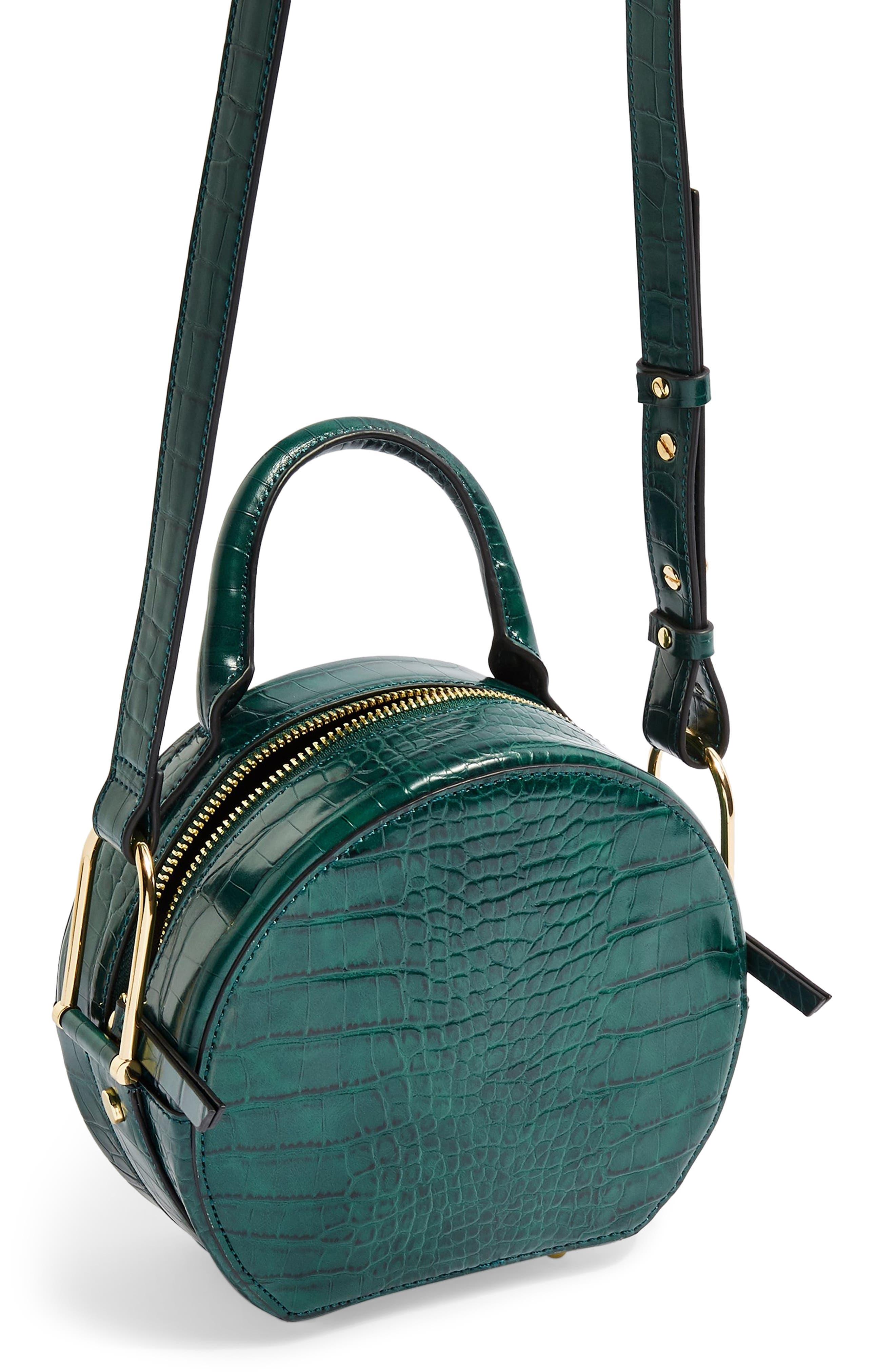 Blair Circle Bag,                             Alternate thumbnail 4, color,                             GREEN