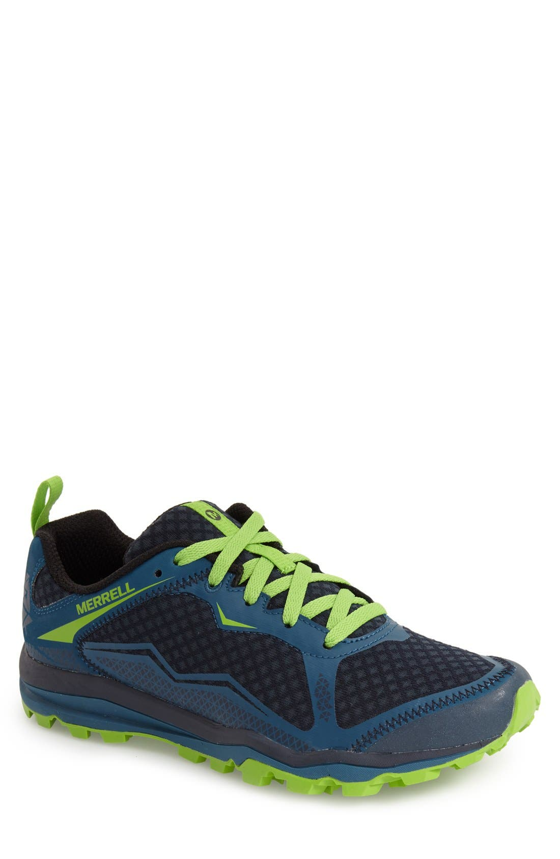 'All Out Crush Light' Trail Running Shoe, Main, color, 300