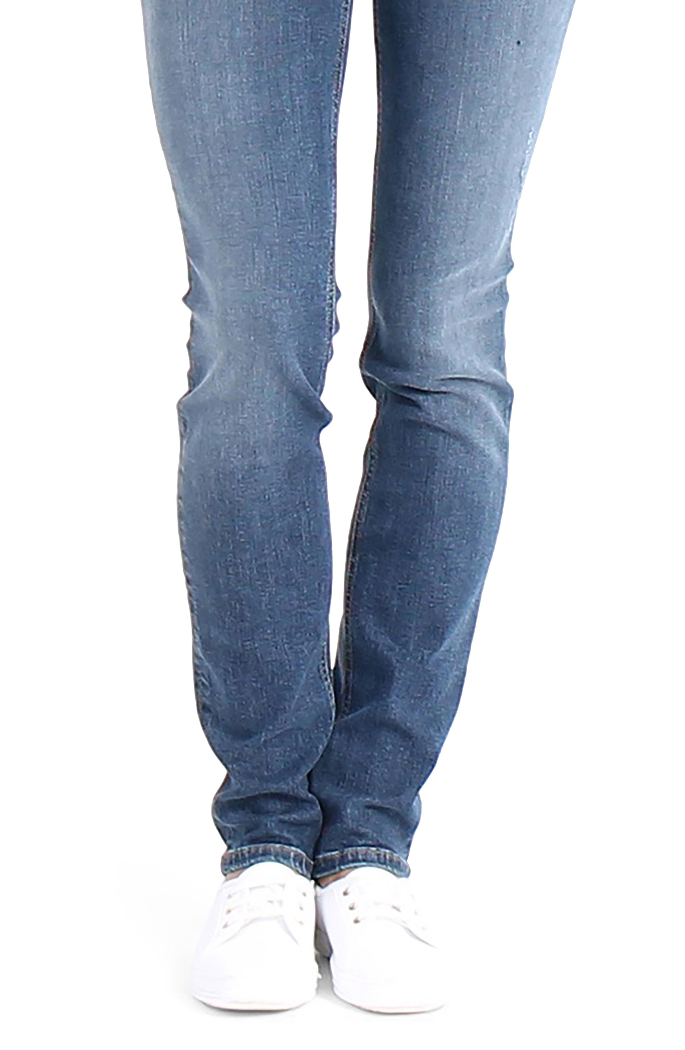 Lily Stretch Skinny Jeans,                             Alternate thumbnail 13, color,