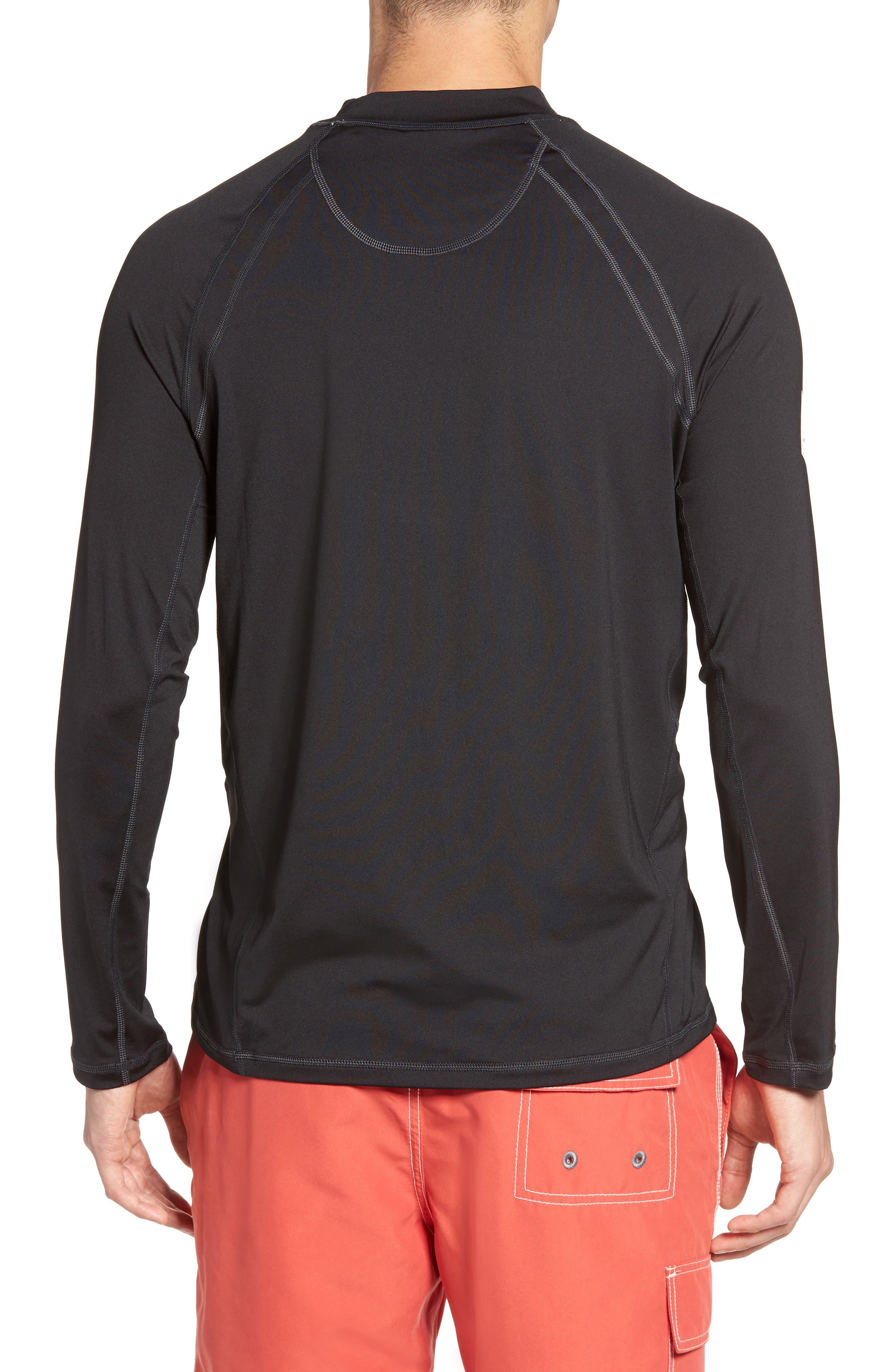Surf Chaser Crewneck T-Shirt,                             Alternate thumbnail 2, color,                             001