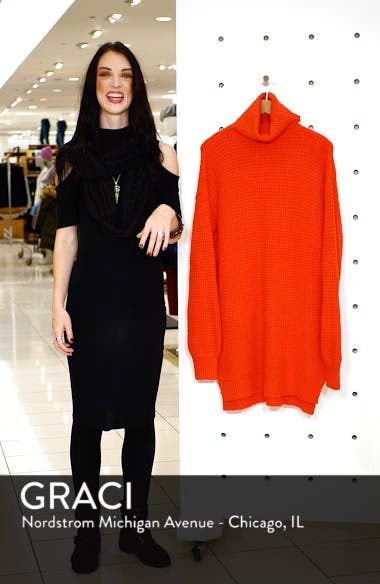 Holly Red Sweater Dress, sales video thumbnail