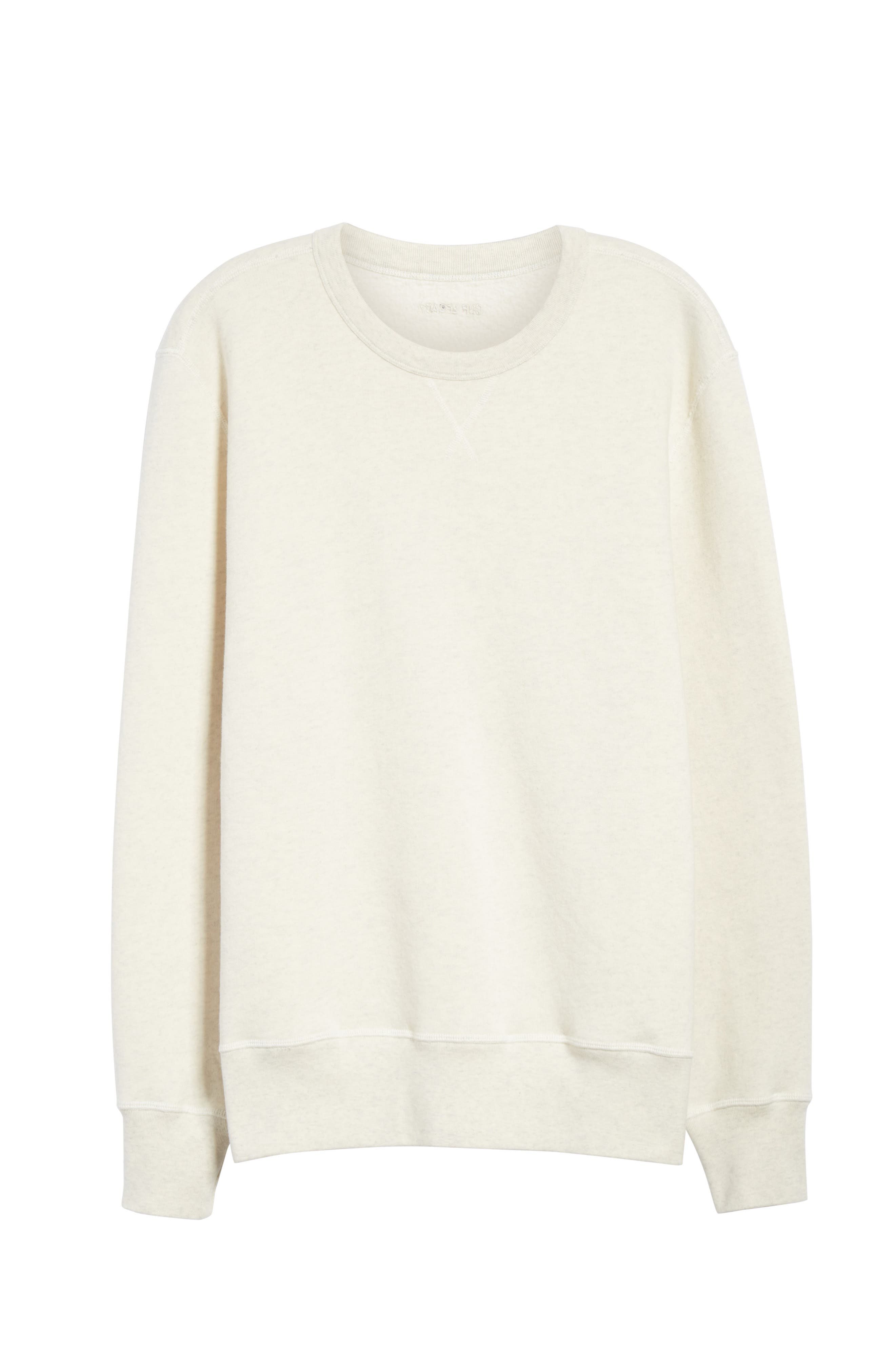 Crewneck Sweatshirt,                             Alternate thumbnail 6, color,                             050