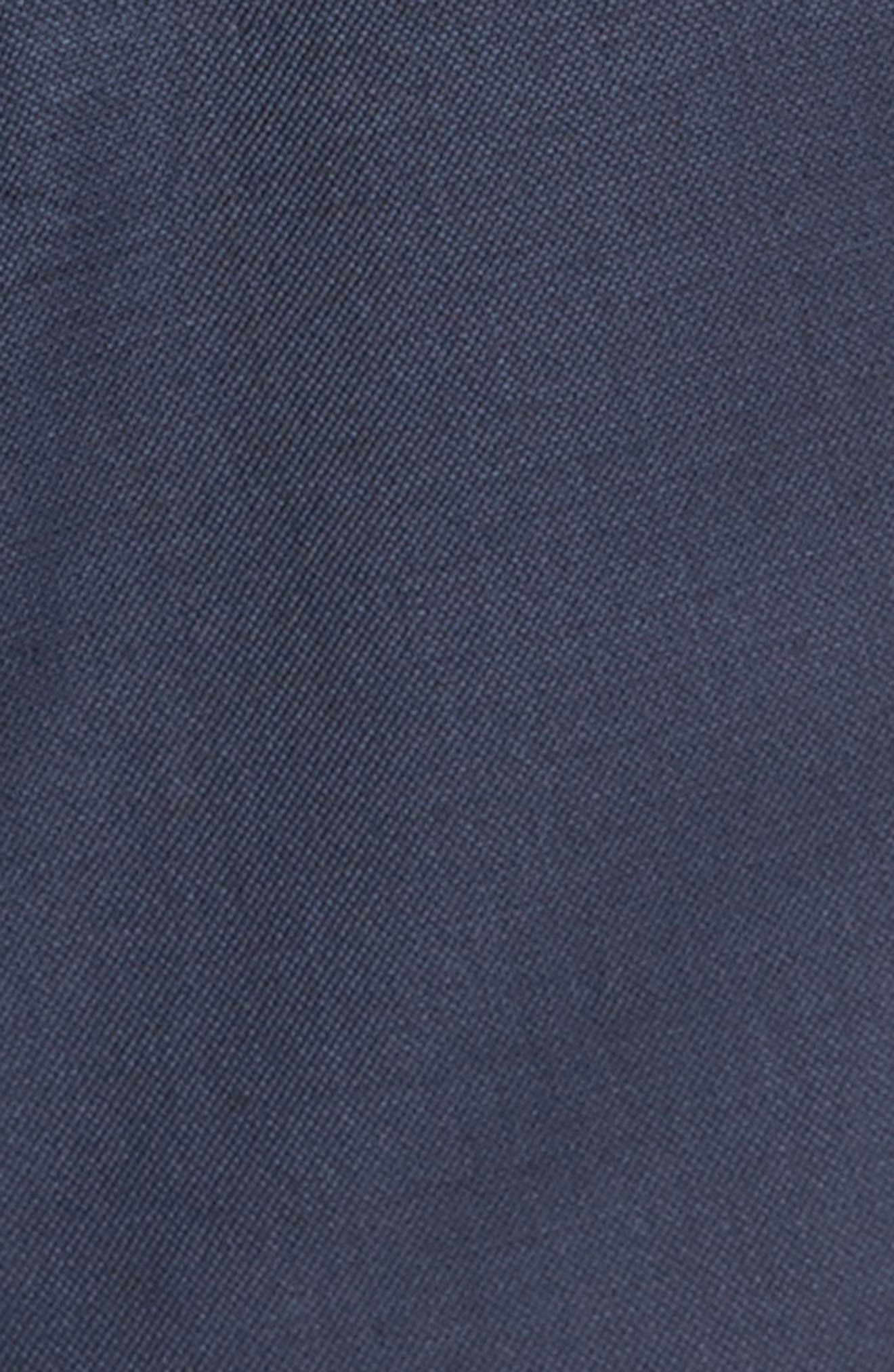 Classic Fit Sharkskin Wool Suit,                             Alternate thumbnail 7, color,                             410