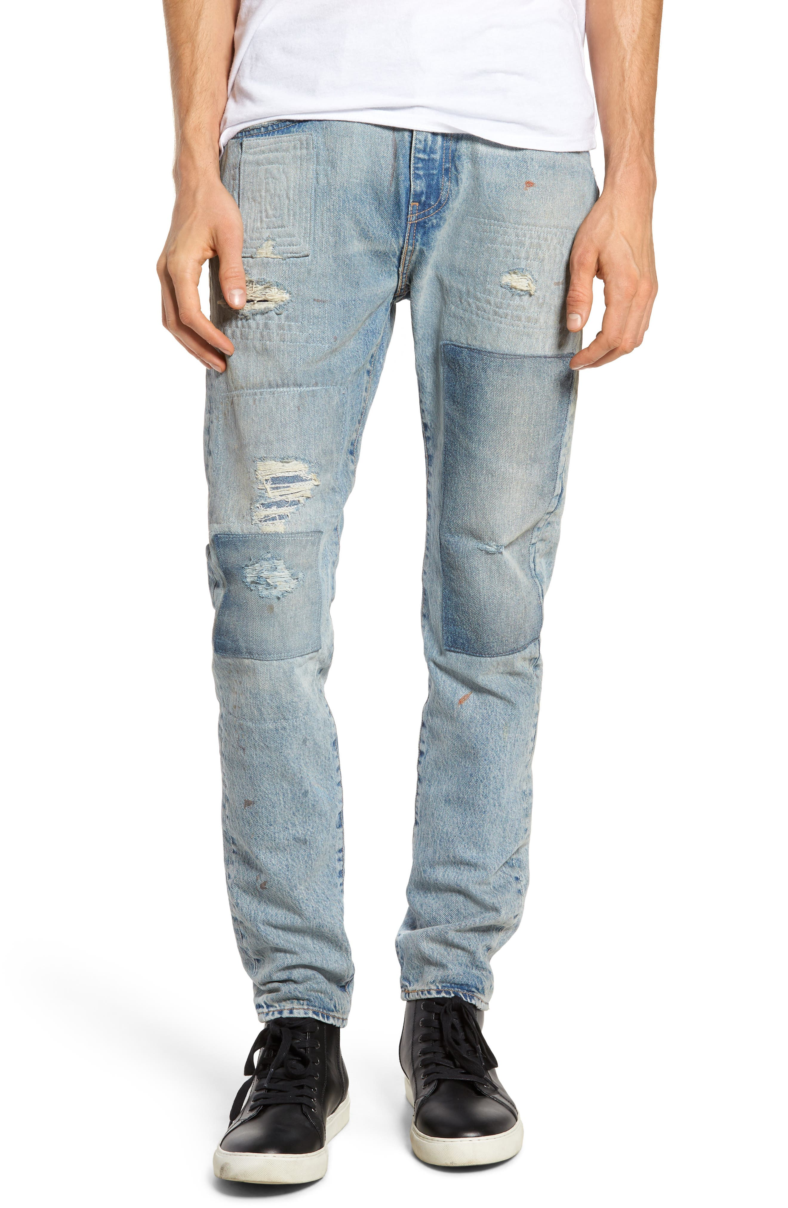 512 Slouchy Skinny Fit Jeans,                             Main thumbnail 1, color,                             423
