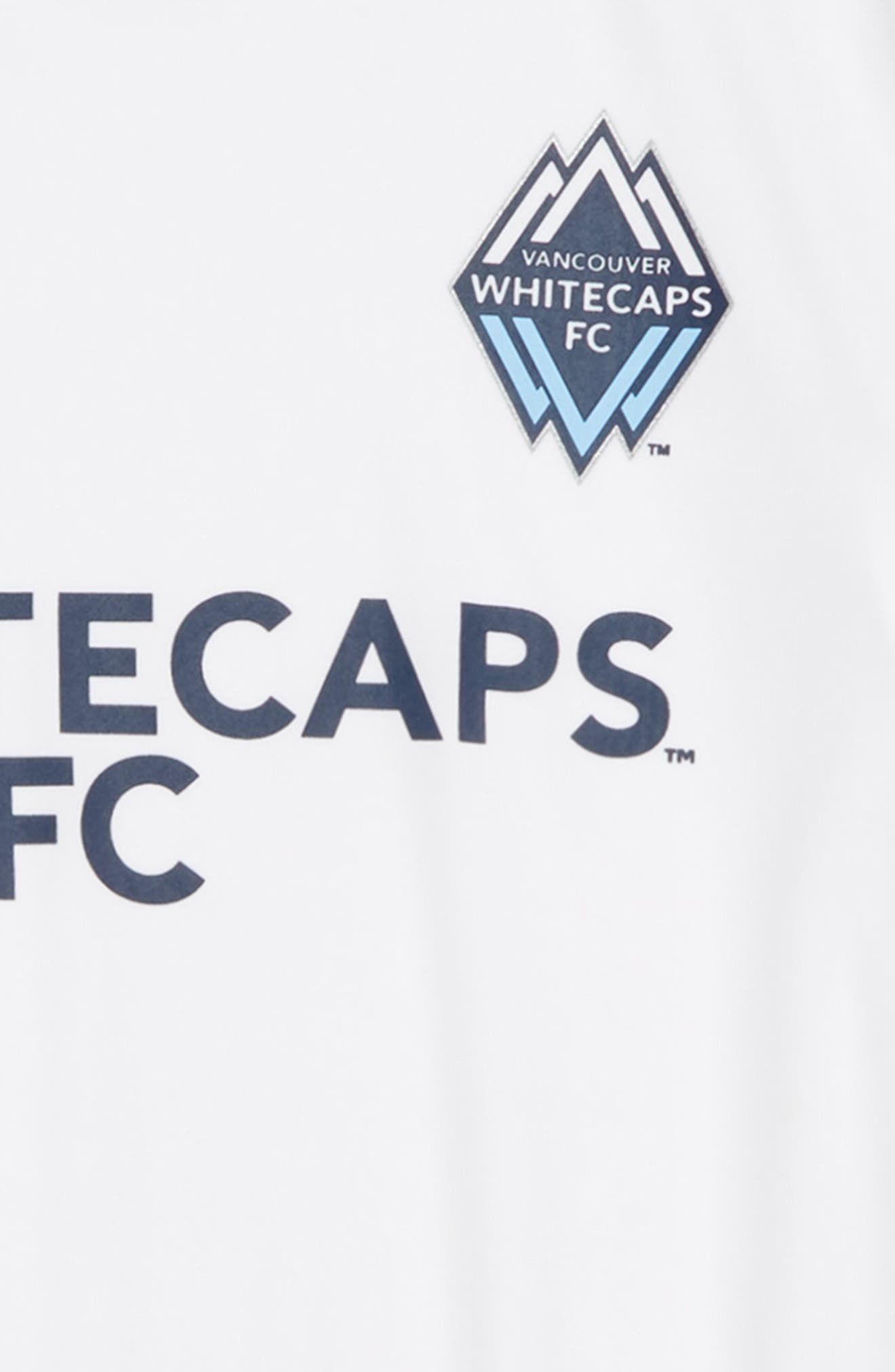 MLS Vancouver Whitecaps FC Primary Logo Graphic T-Shirt,                             Alternate thumbnail 2, color,