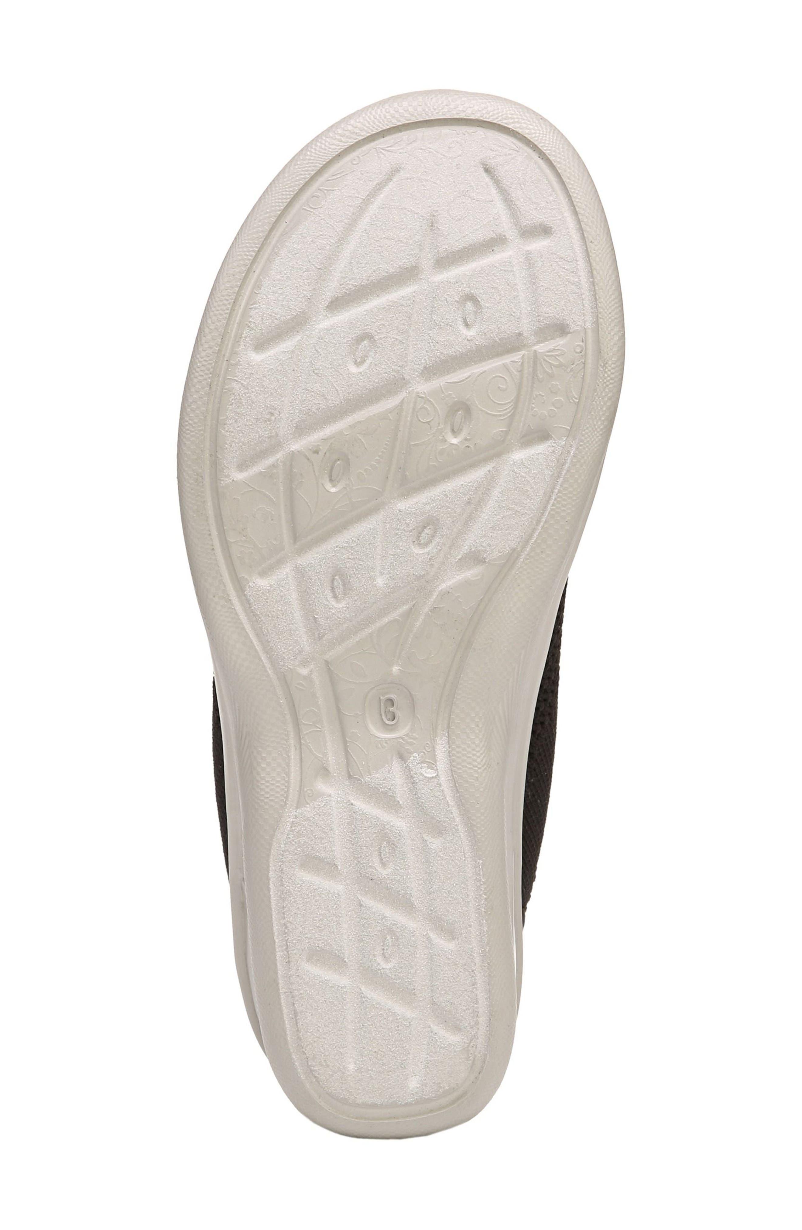Secret Peep Toe Knit Sneaker,                             Alternate thumbnail 5, color,                             BROWN FABRIC
