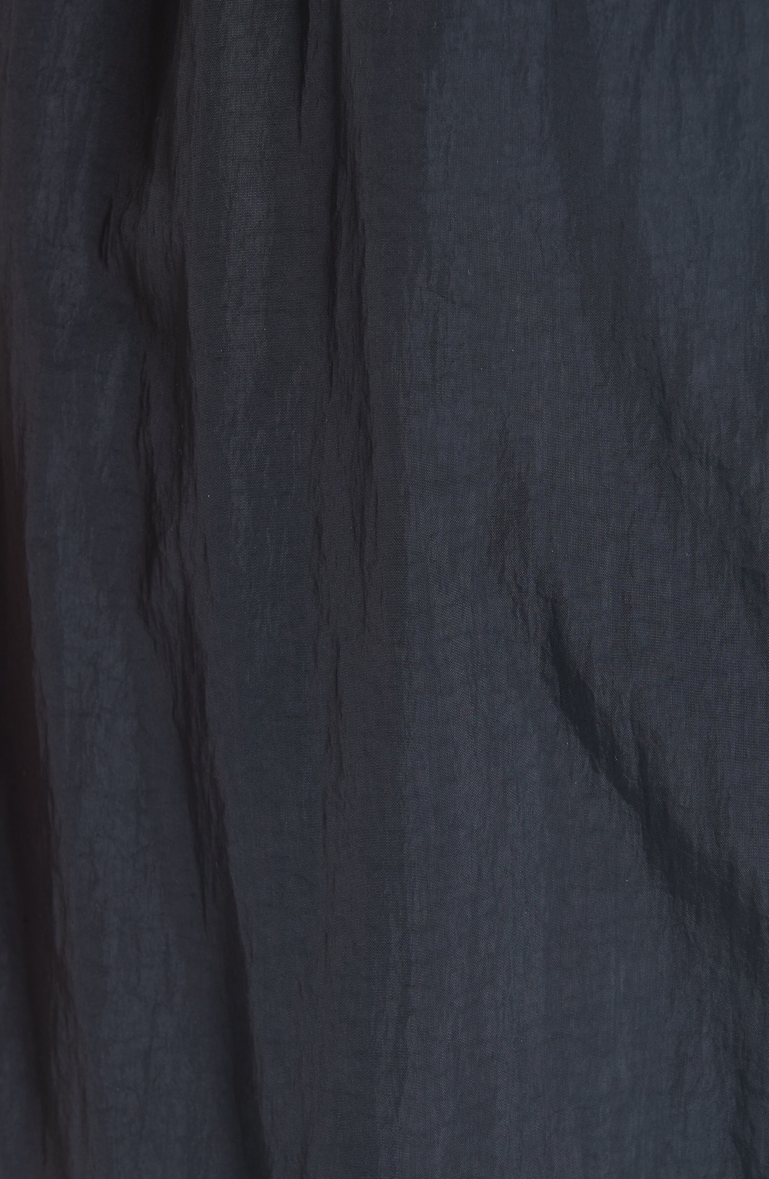 Nylon Chopper Pants,                             Alternate thumbnail 5, color,                             BLACK