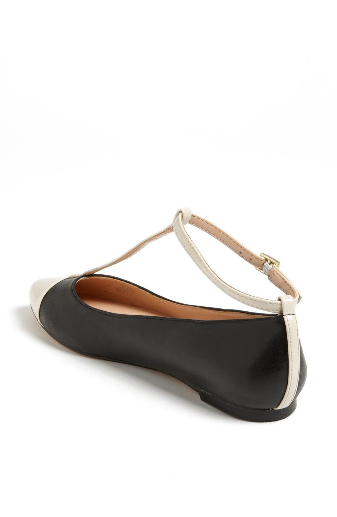 Julianne Hough for Sole Society 'Addy' Flat,                             Alternate thumbnail 4, color,                             001