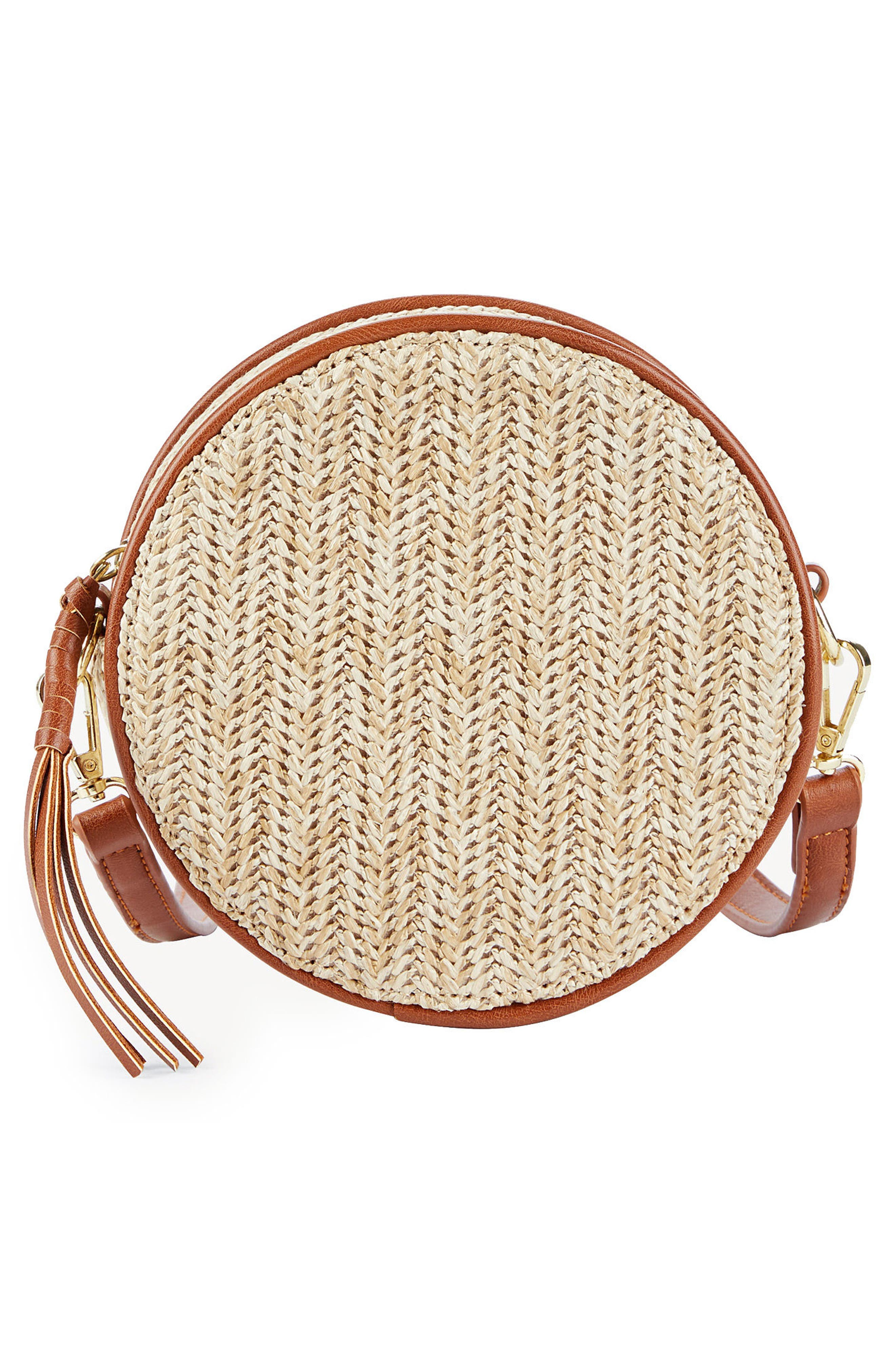 Pipper Small Faux Leather Crossbody Bag,                             Alternate thumbnail 3, color,                             250