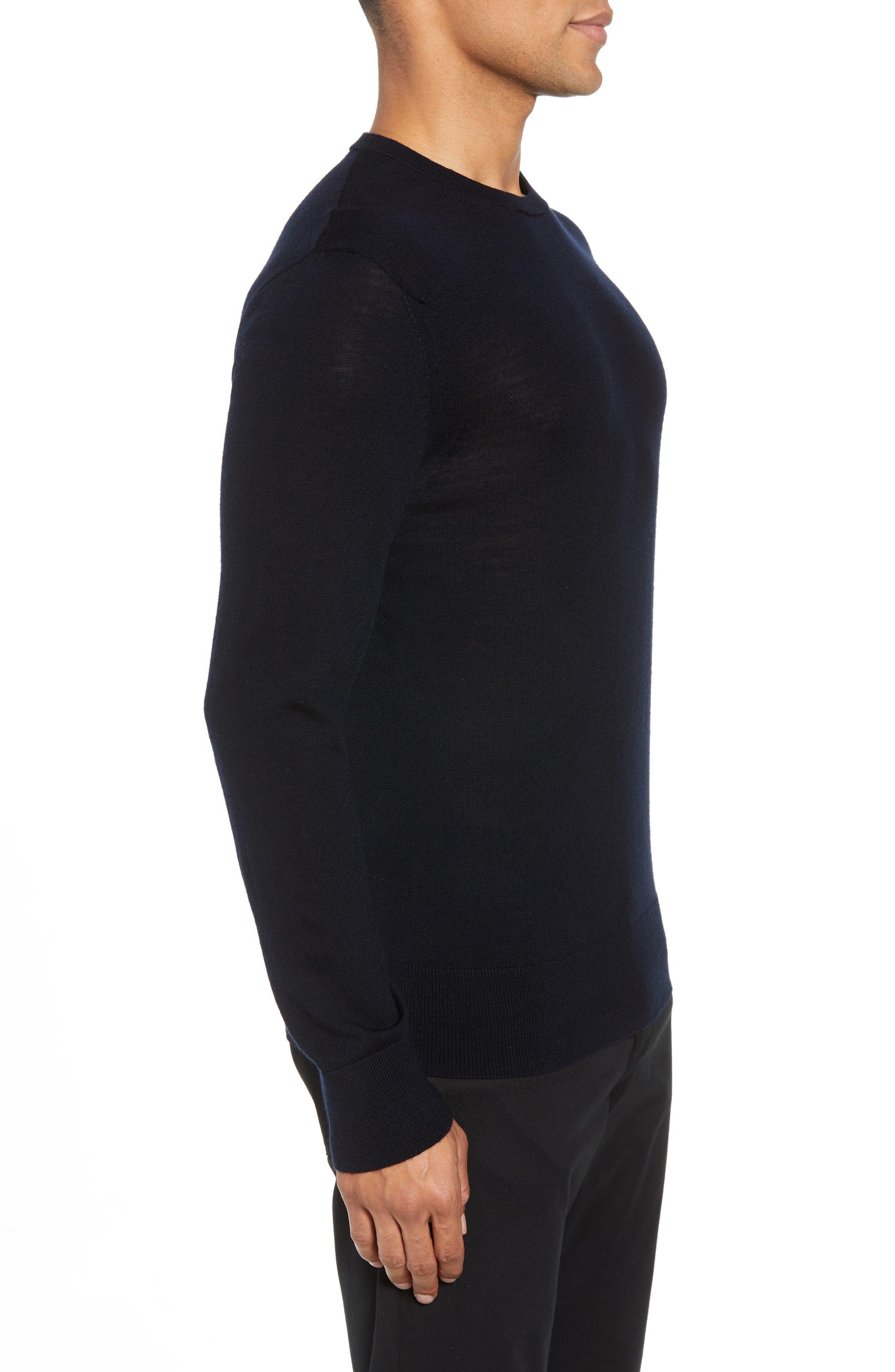 Mode Slim Fit Merino Wool Sweater,                             Alternate thumbnail 20, color,