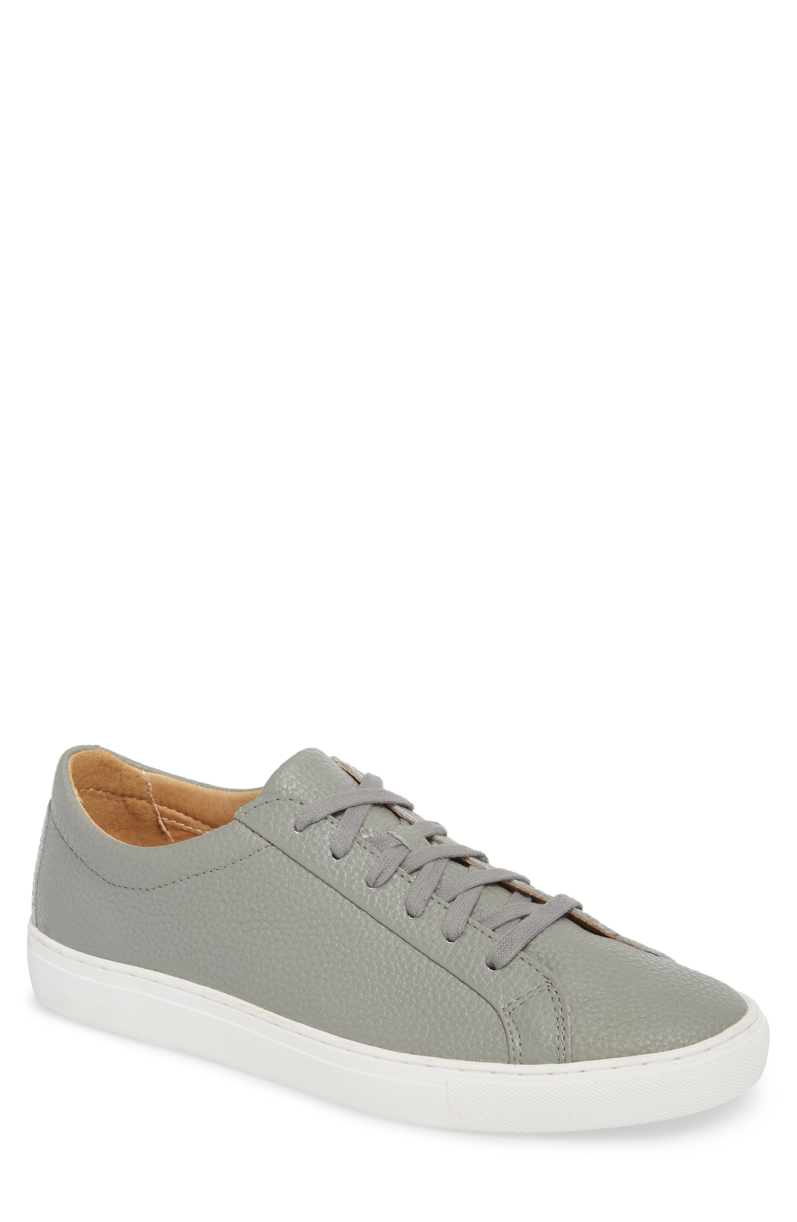 Kennedy Low Top Sneaker,                         Main,                         color, RIVER ROCK LEATHER