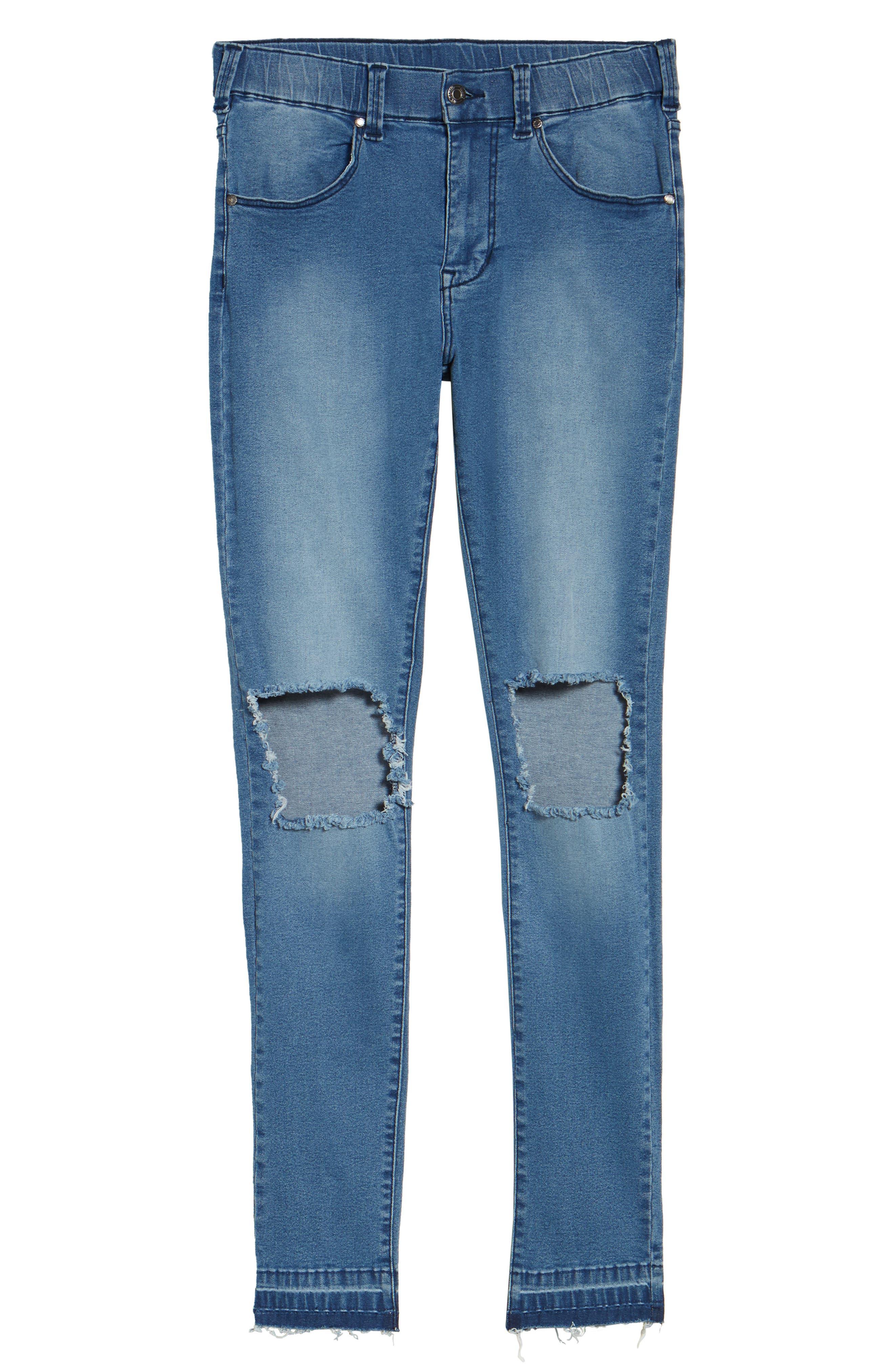 Leroy Slim Fit Jeans,                             Alternate thumbnail 6, color,                             400