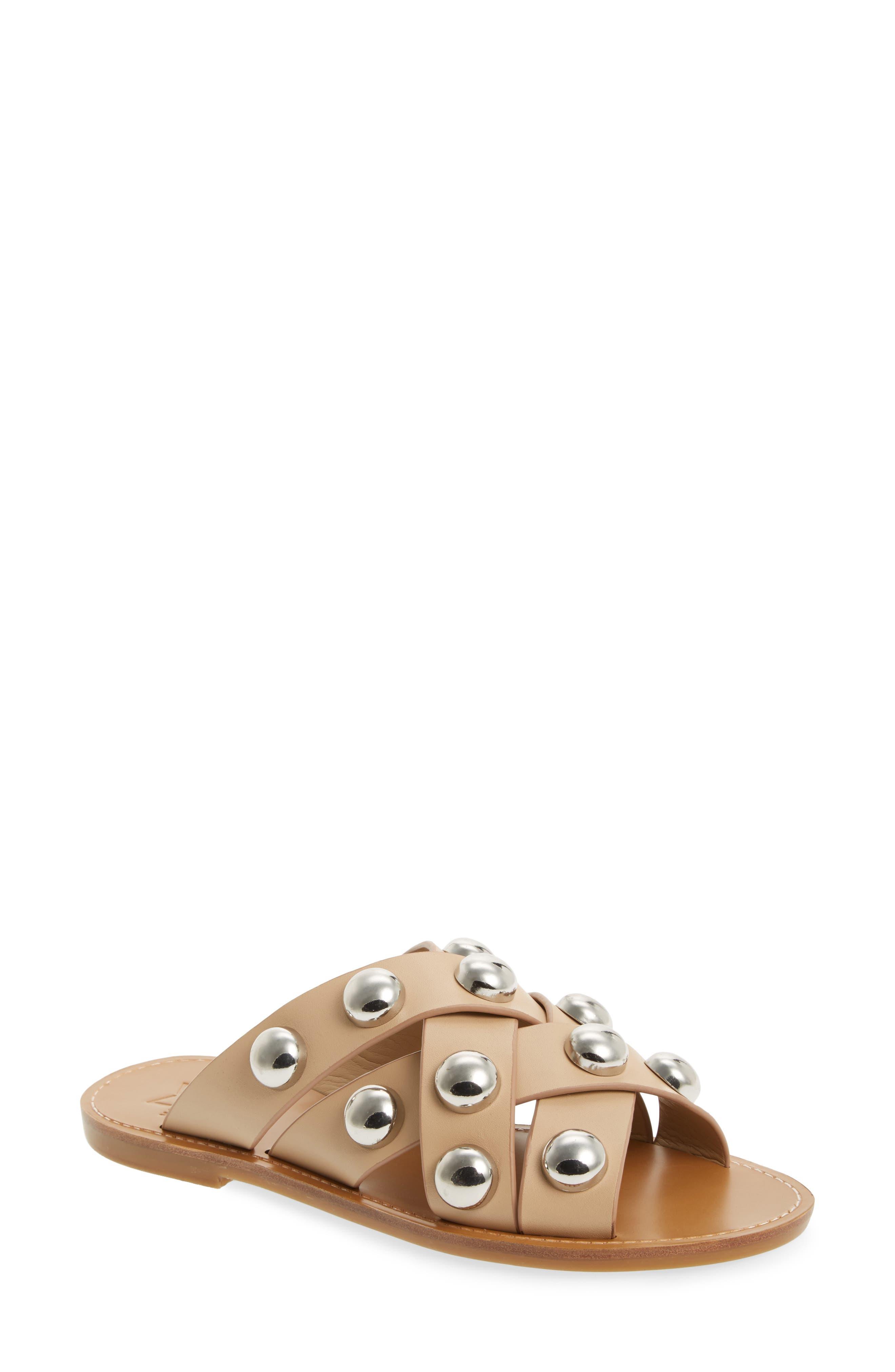 Raidan Studded Sandal,                             Main thumbnail 3, color,