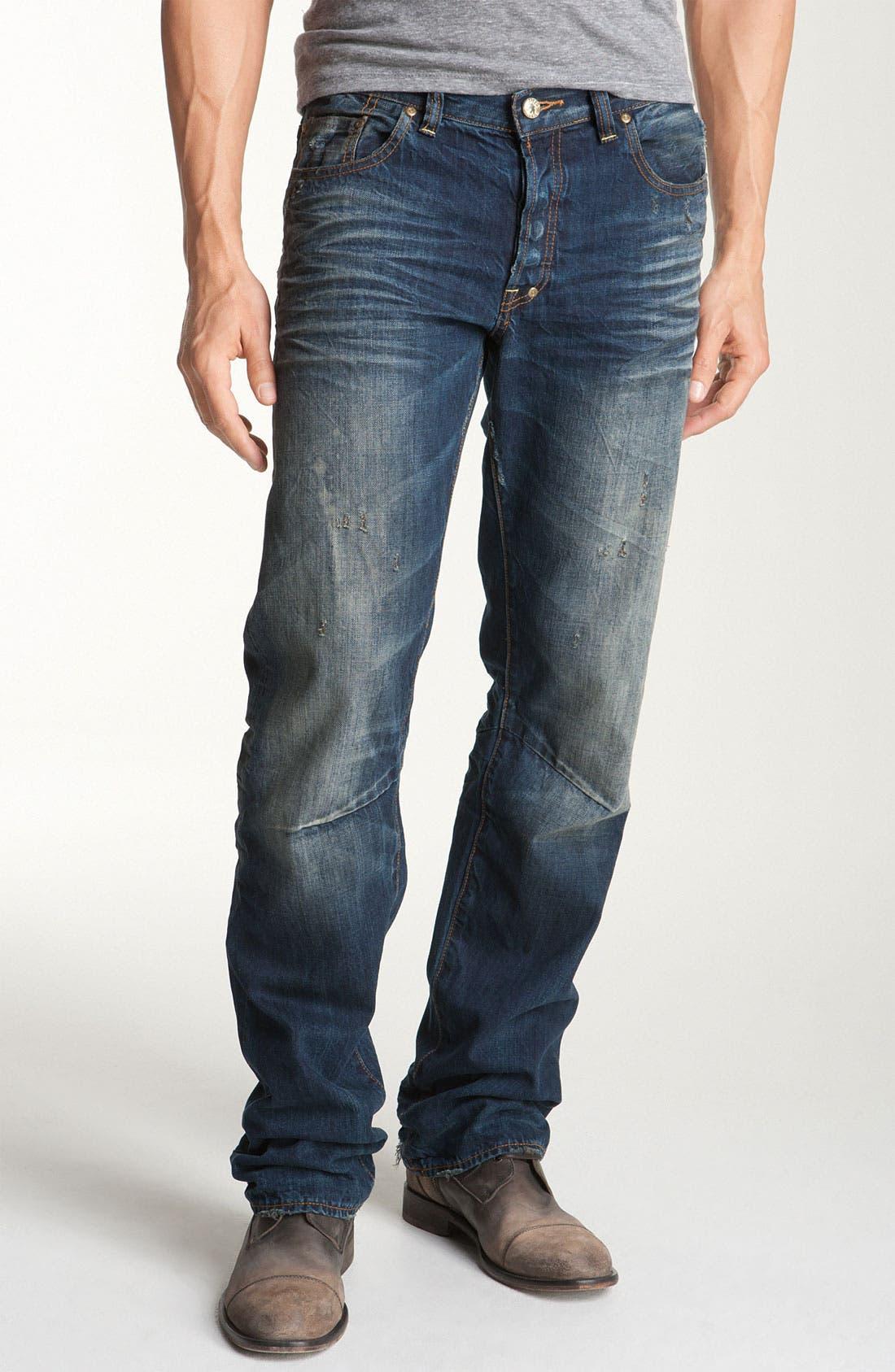 'Barracuda' Straight Leg Jeans,                             Alternate thumbnail 2, color,                             481