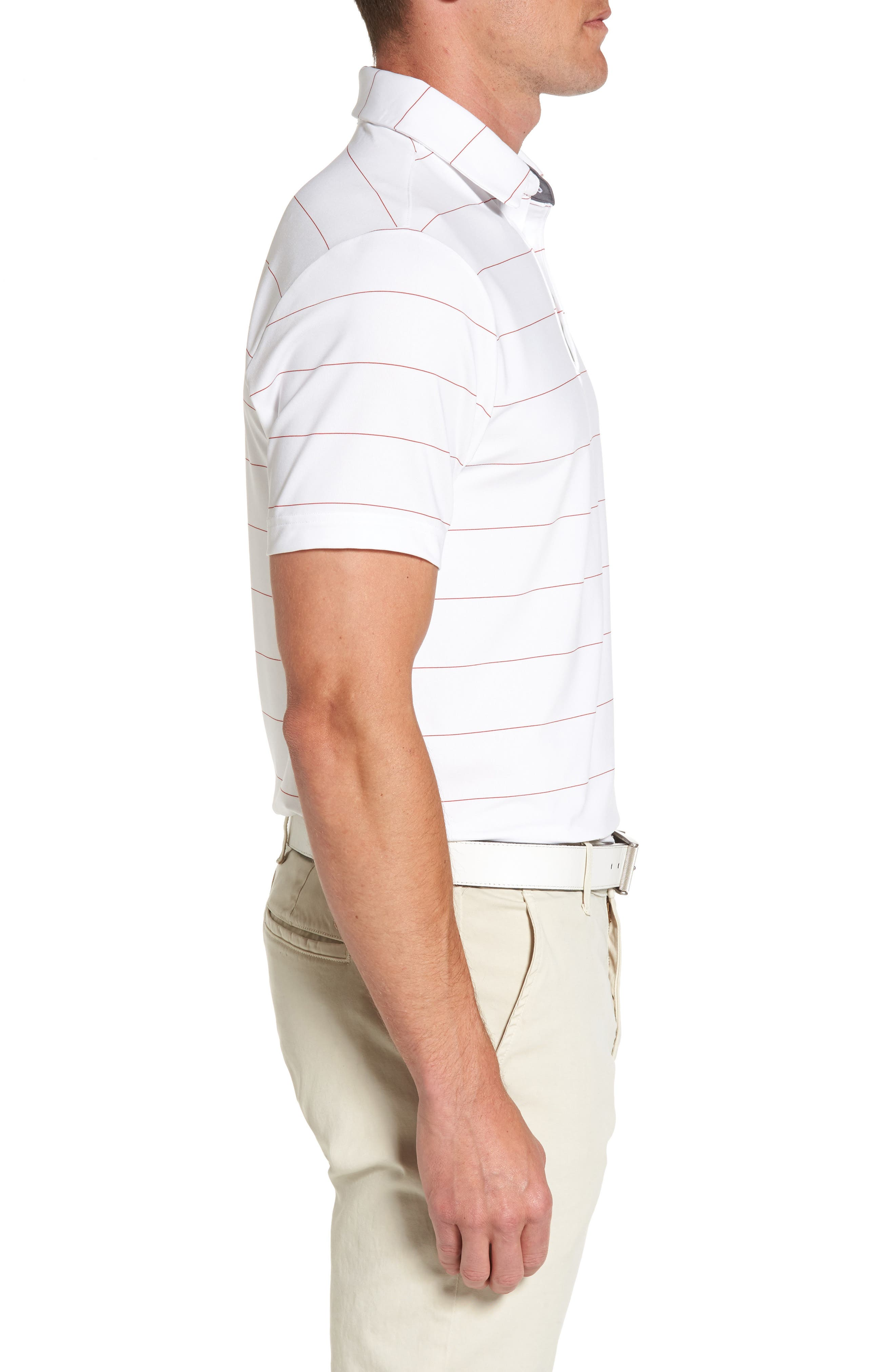 'Playoff' Loose Fit Short Sleeve Polo,                             Alternate thumbnail 120, color,