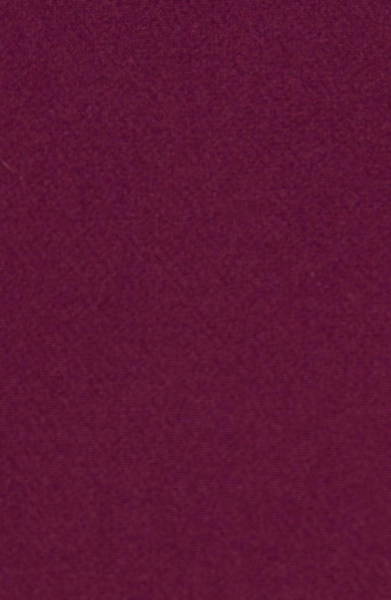 Morgan Italian Cady Bell Sleeve Mini Dress,                             Alternate thumbnail 5, color,                             500