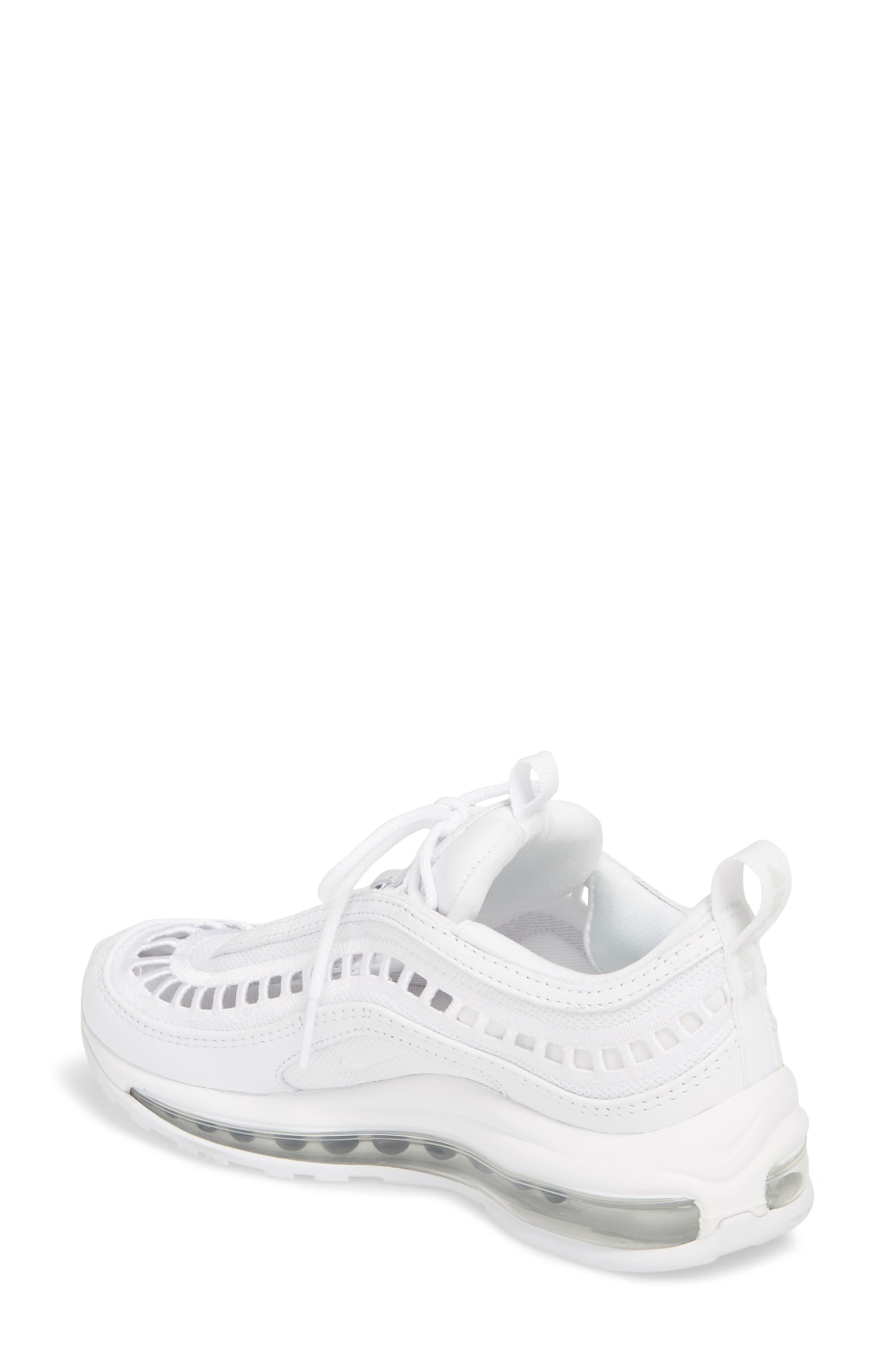 Air Max 97 Ultra '17 SI Sneaker,                             Alternate thumbnail 2, color,                             WHITE/ WHITE/ VAST GREY