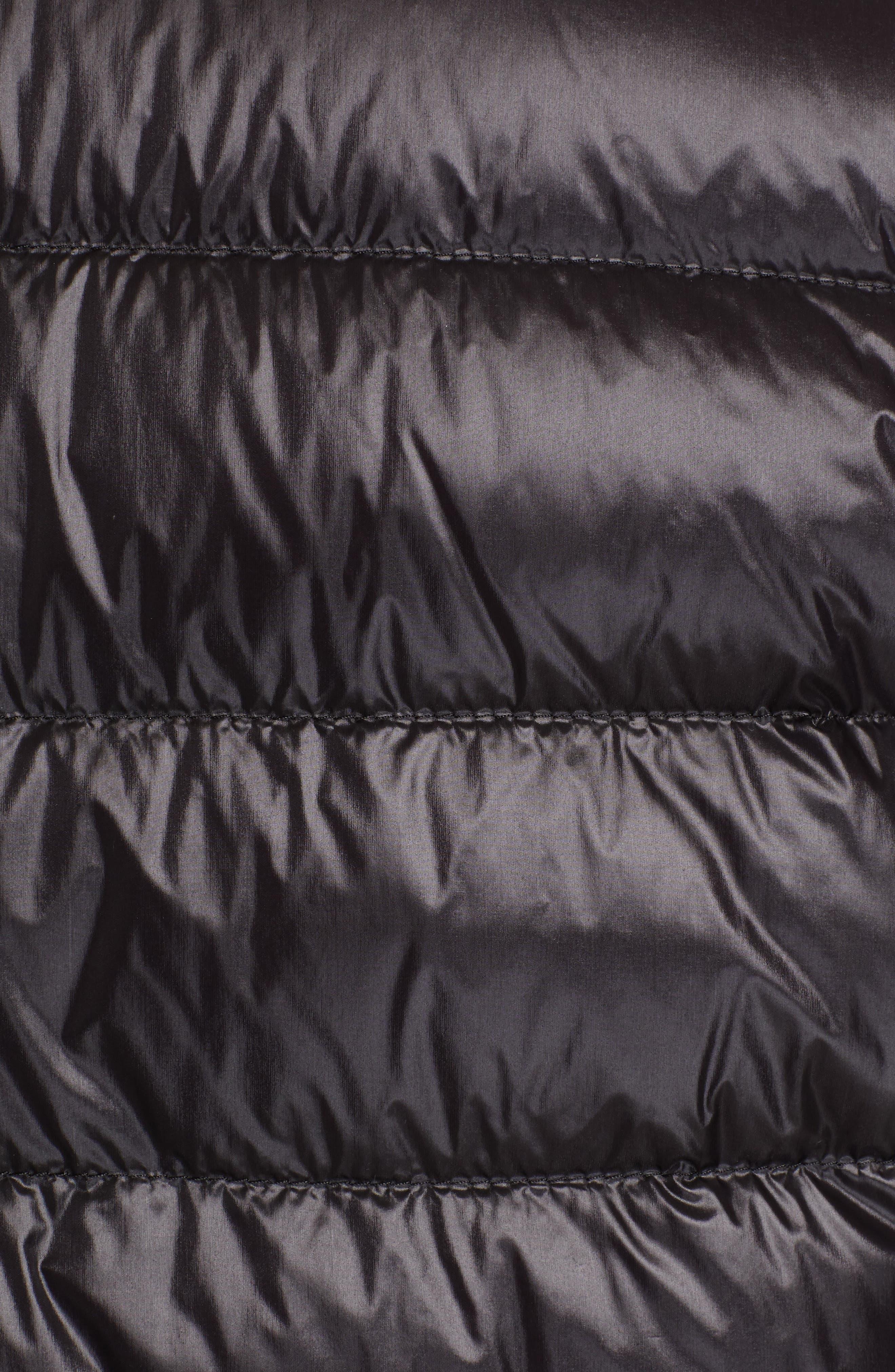 MONCLER,                             Acorus Down Jacket,                             Alternate thumbnail 6, color,                             BLACK