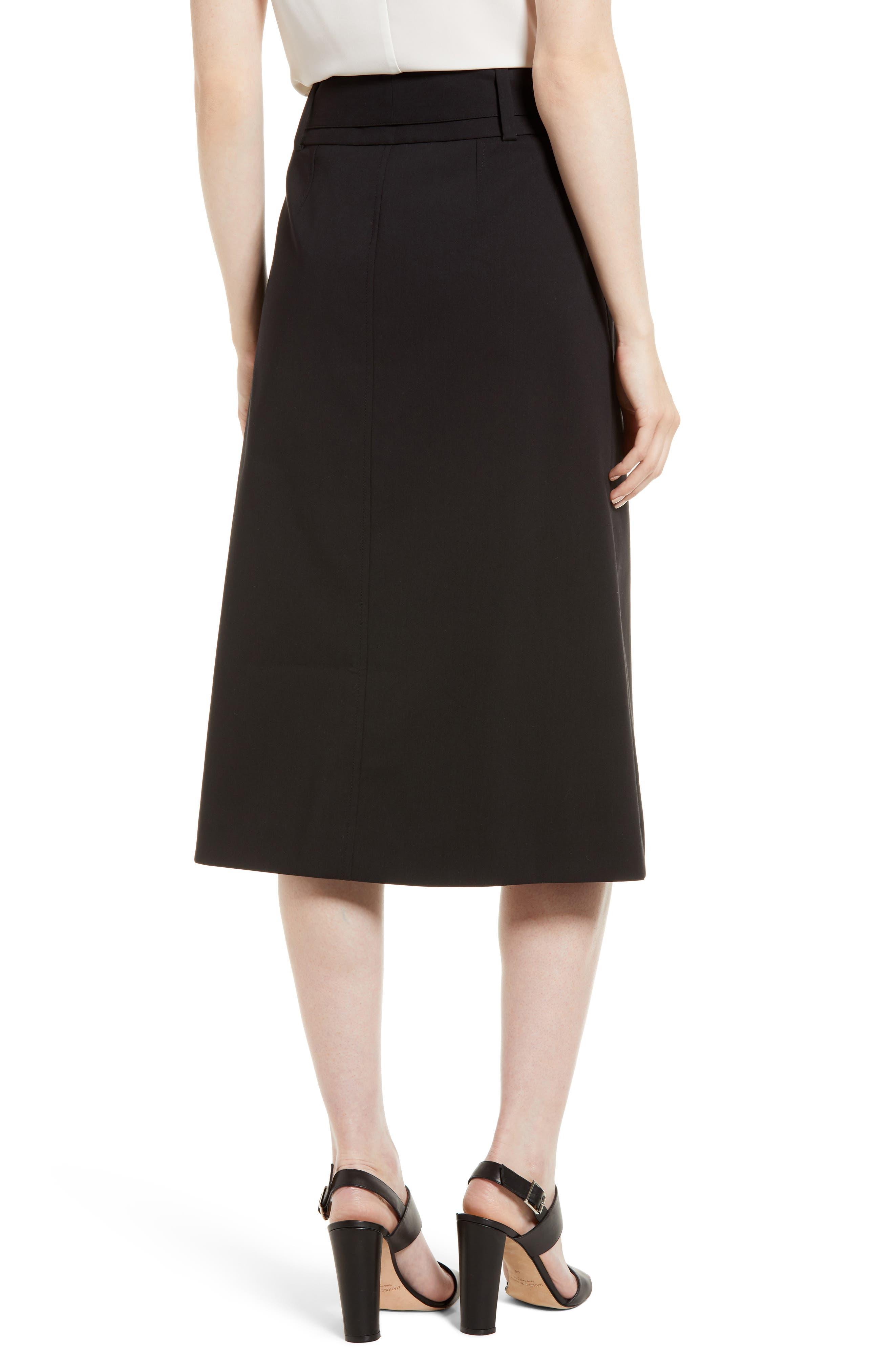 Tie Waist Skirt,                             Alternate thumbnail 2, color,                             001