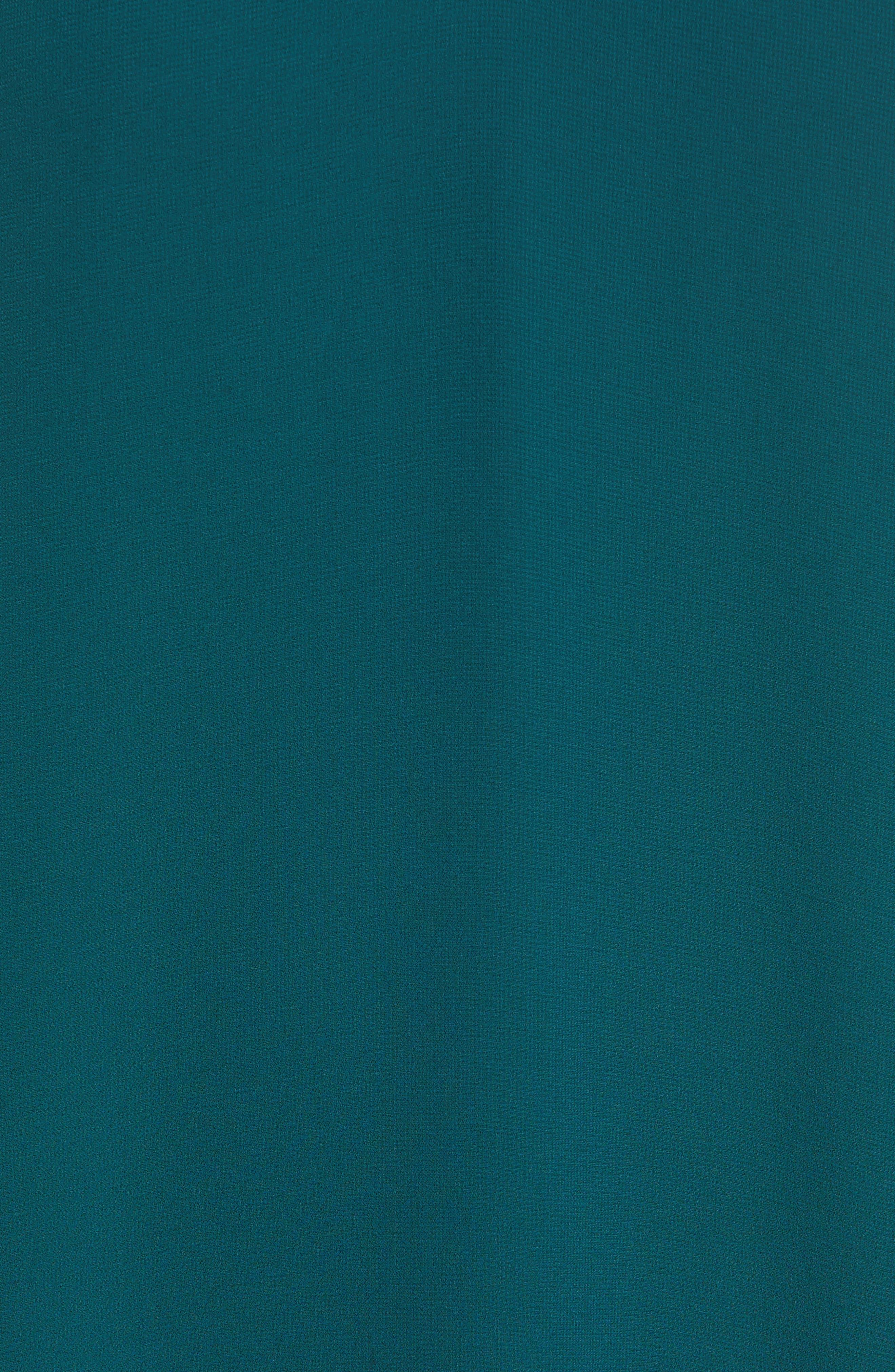 Ruffle Sleeve Shift Dress,                             Alternate thumbnail 17, color,