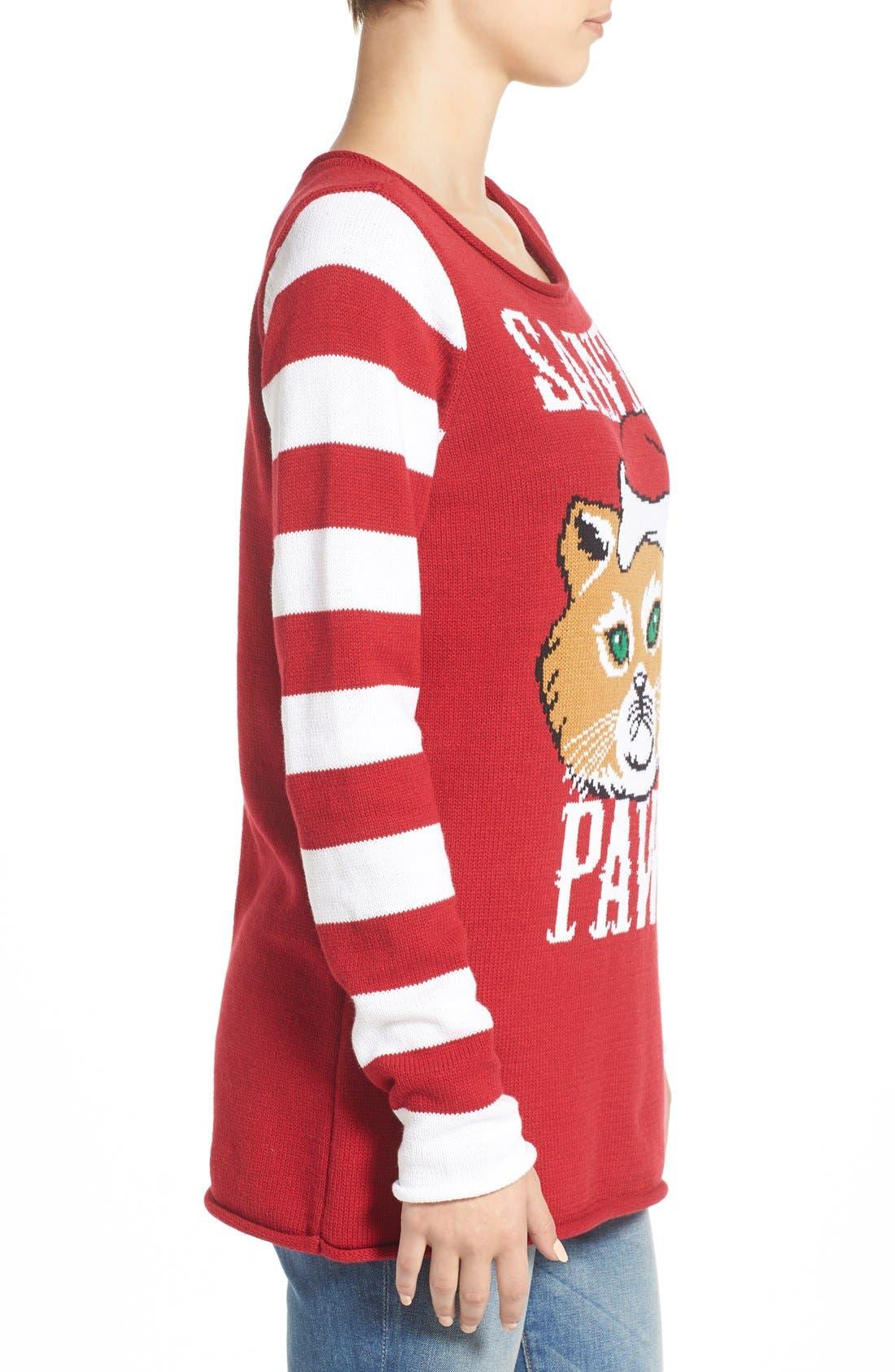 Christmas Sweater Santa Paws | www.topsimages.com