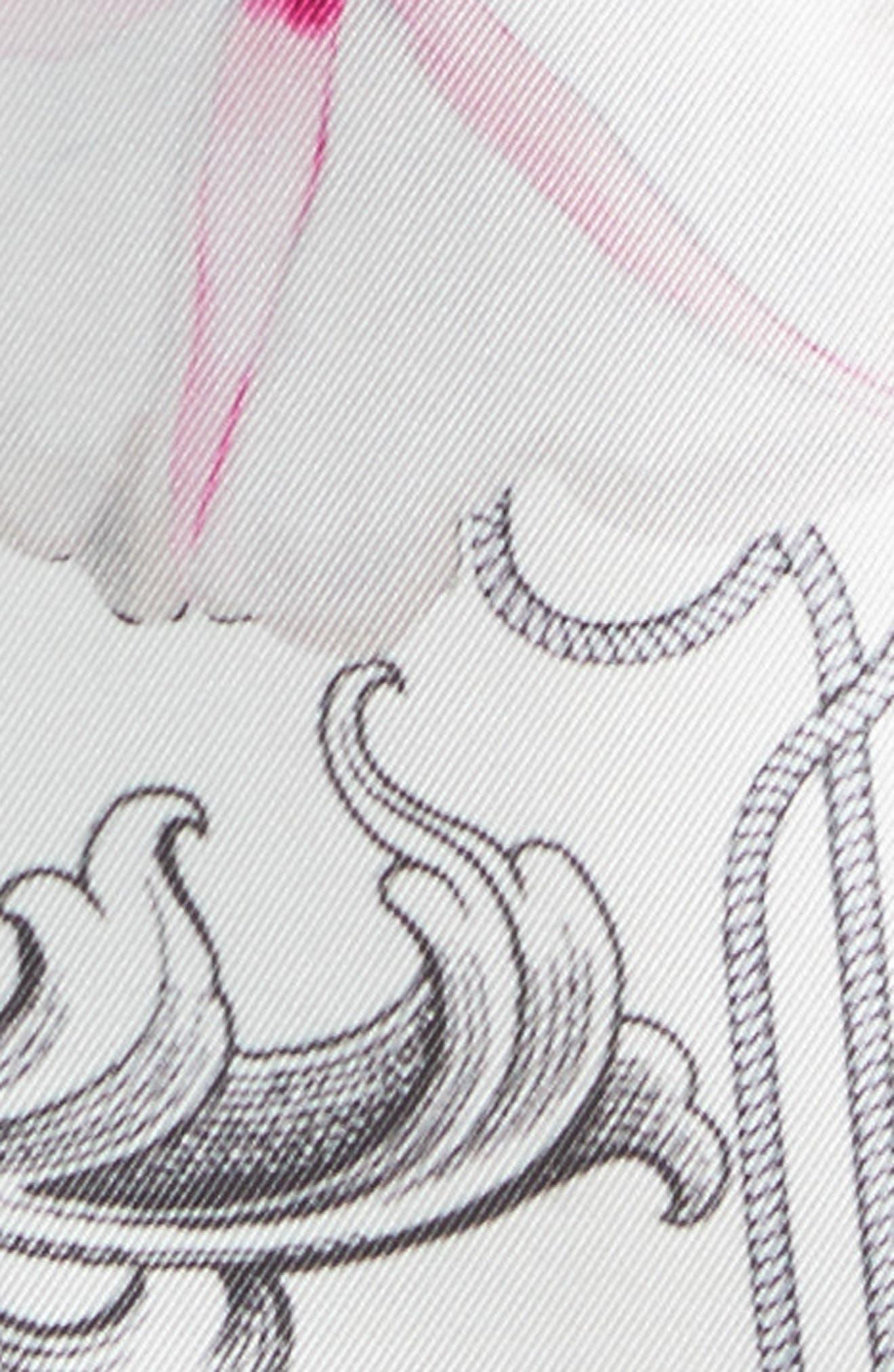 Reliat Passion Flower Cap Sleeve Dress,                             Alternate thumbnail 5, color,                             100