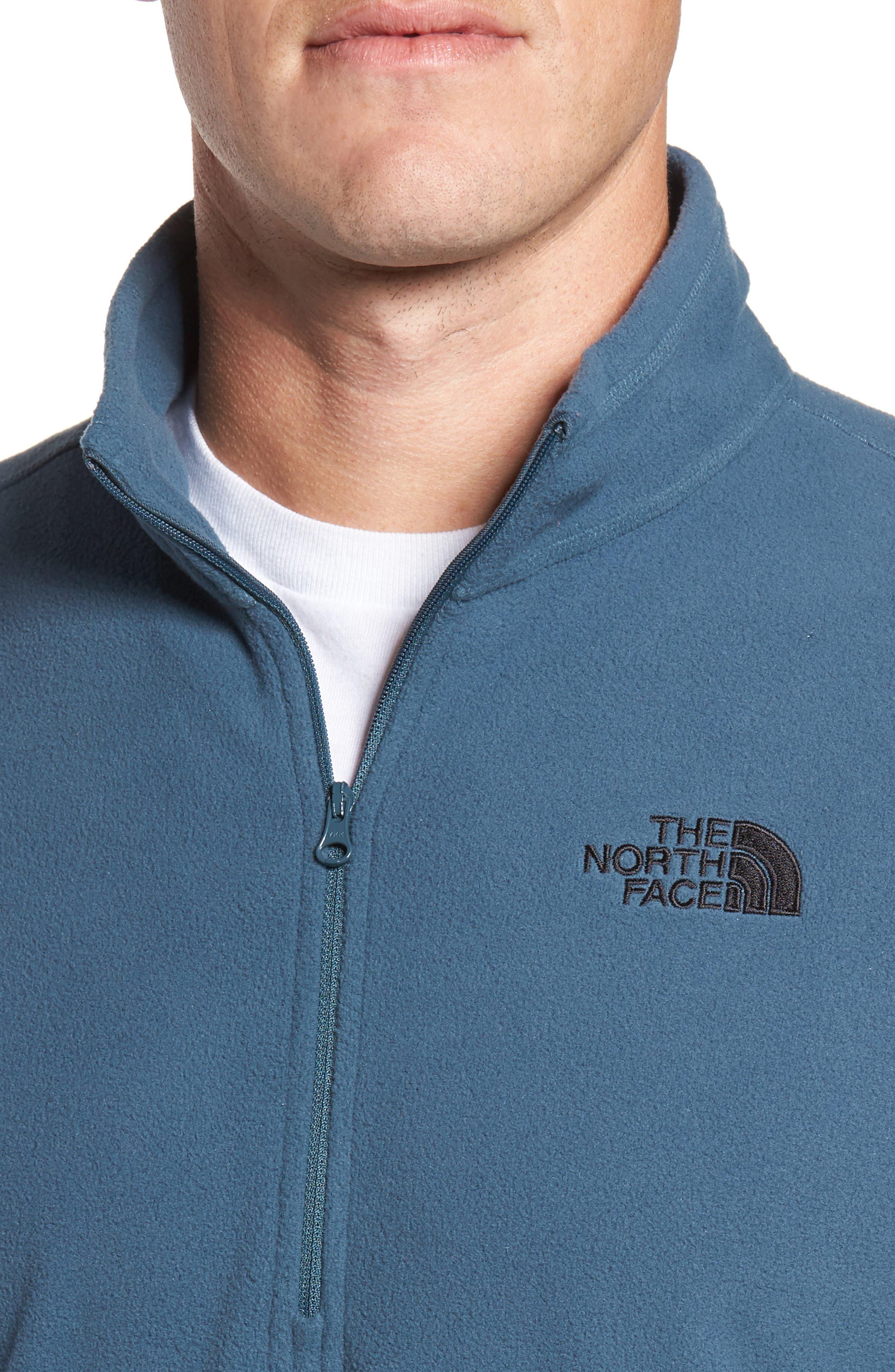 'TKA 100 Glacier' Quarter Zip Fleece Pullover,                             Alternate thumbnail 140, color,