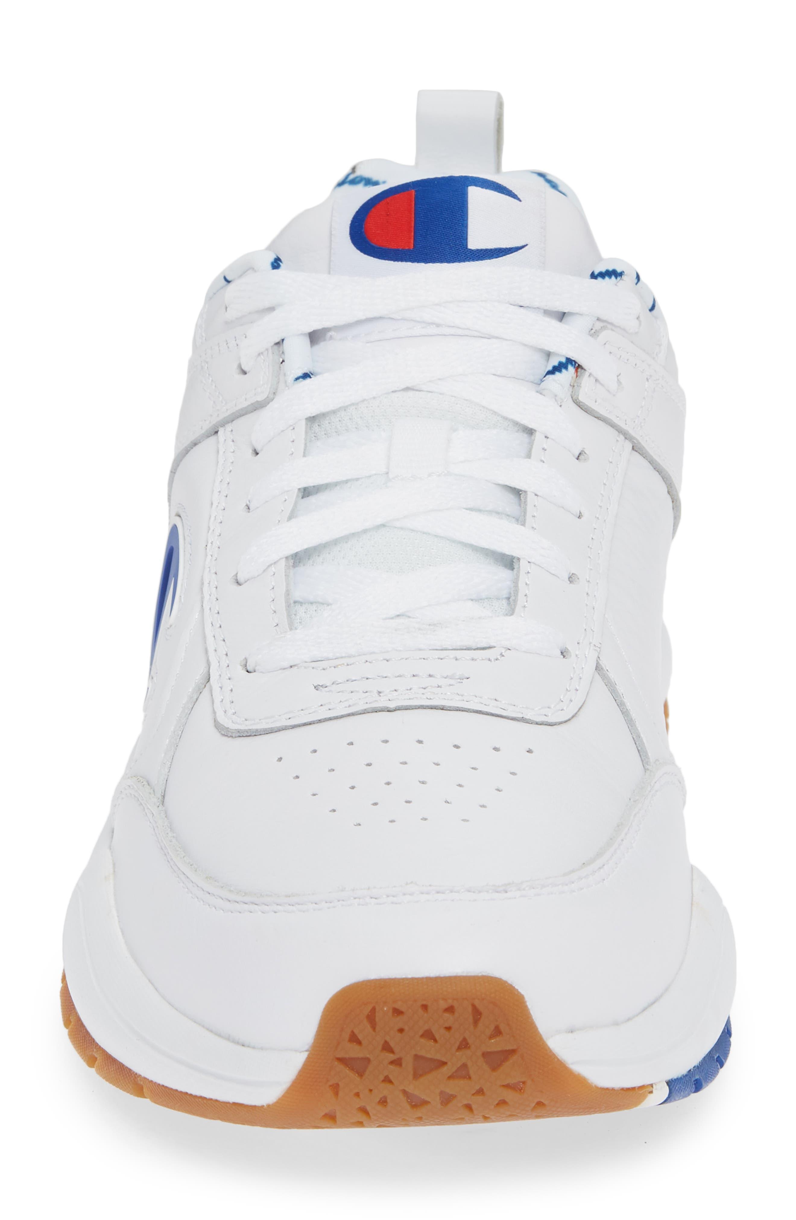 Bones Big-C Sneaker,                             Alternate thumbnail 4, color,                             WHITE