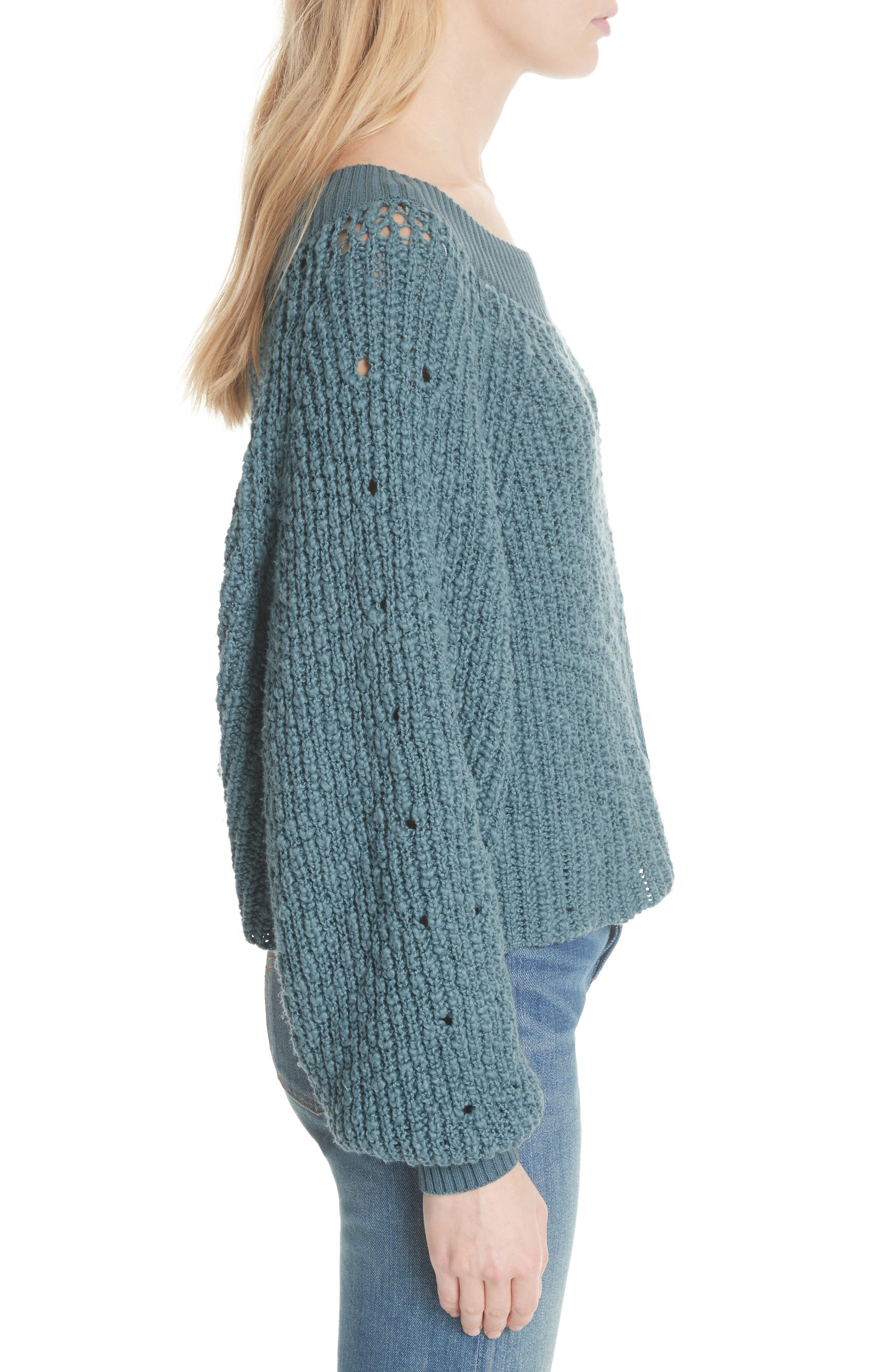 Pandora's Boatneck Sweater,                             Alternate thumbnail 10, color,
