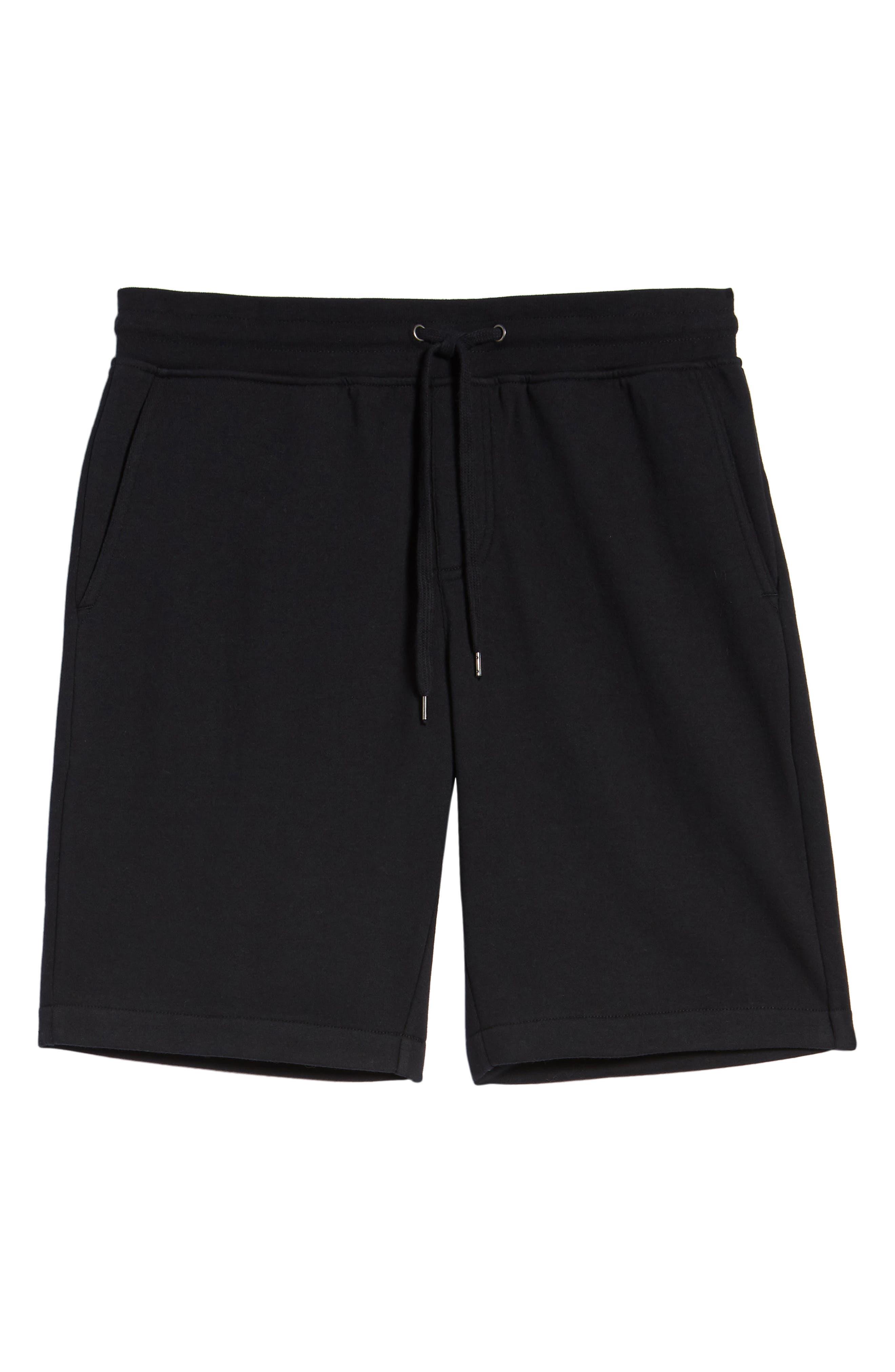 THE RAIL,                             Fleece Shorts,                             Alternate thumbnail 6, color,                             001
