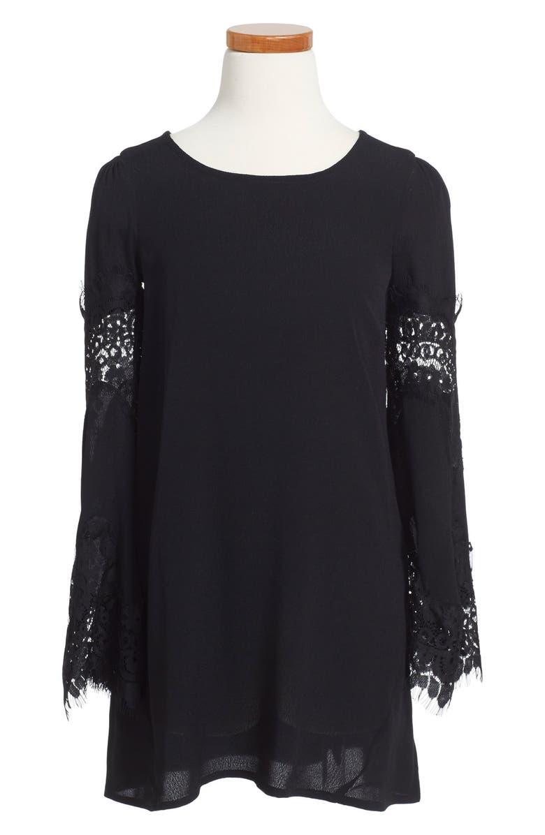 Ella Moss  Carole  Bell Sleeve Shift Dress (Big Girls)  279b9d16c