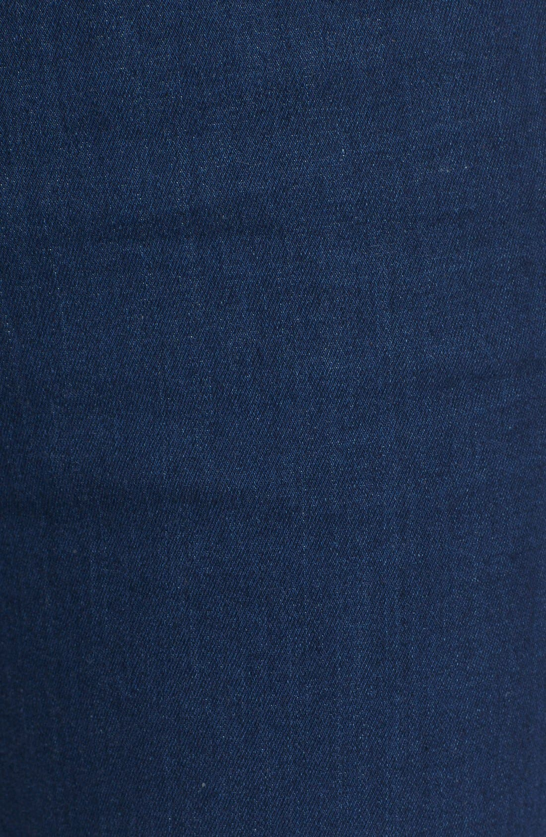 'The Skinny' Stretch Jeans,                             Alternate thumbnail 5, color,                             400