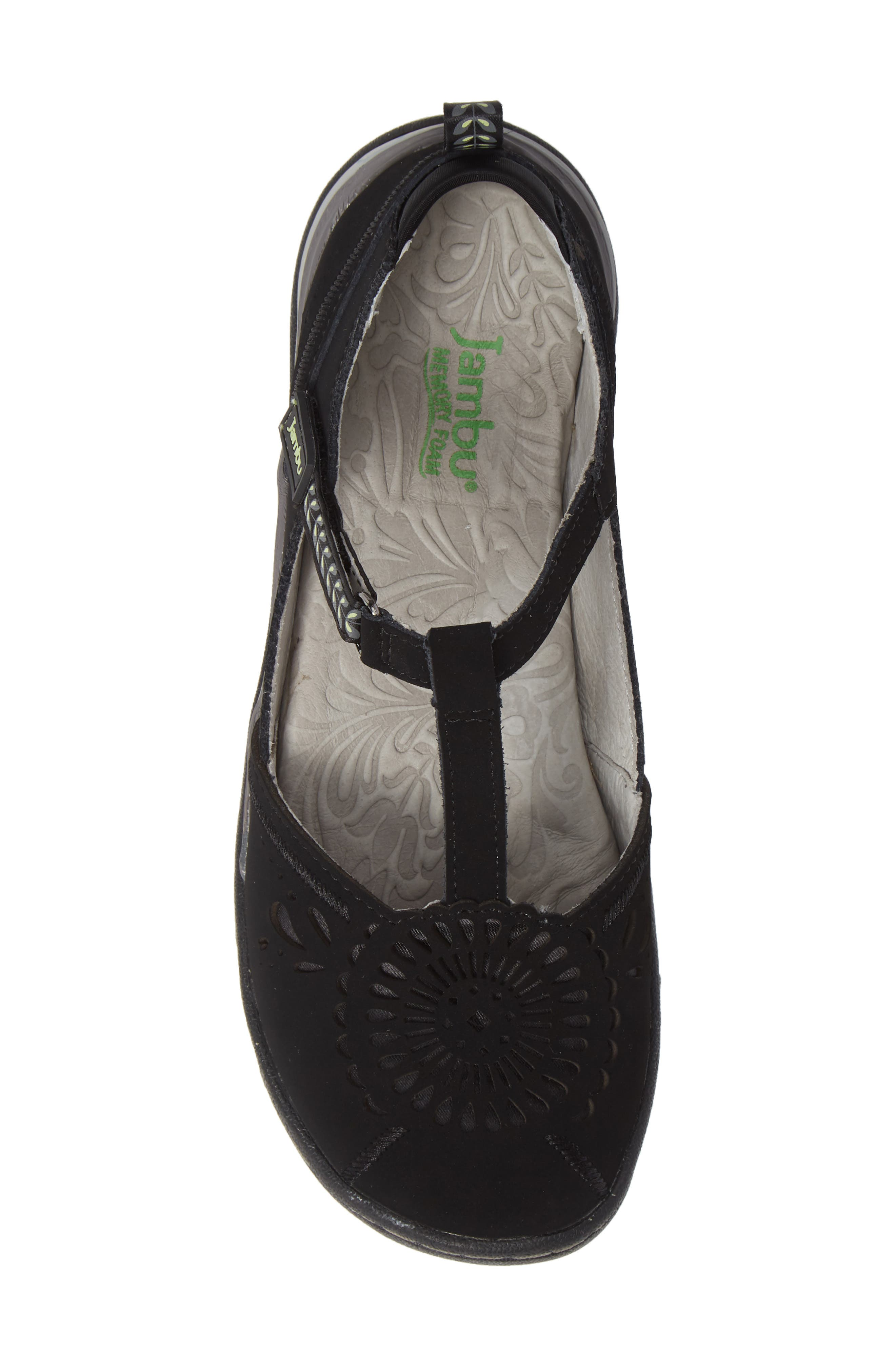 Sunkist Strappy Sneaker,                             Alternate thumbnail 5, color,                             BLACK/ CHIVE NUBUCK LEATHER