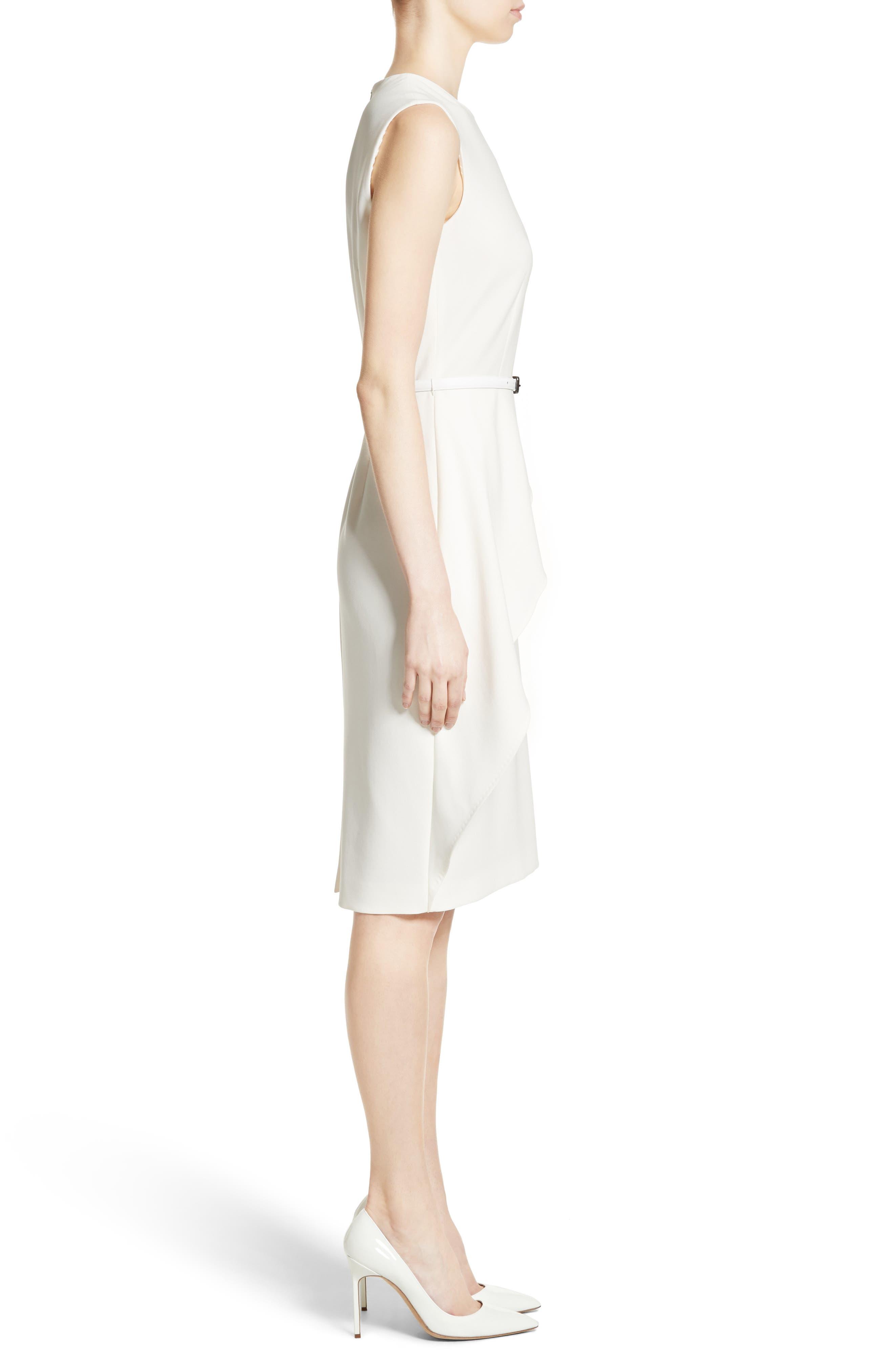 Ossola Sheath Dress,                             Alternate thumbnail 3, color,                             100