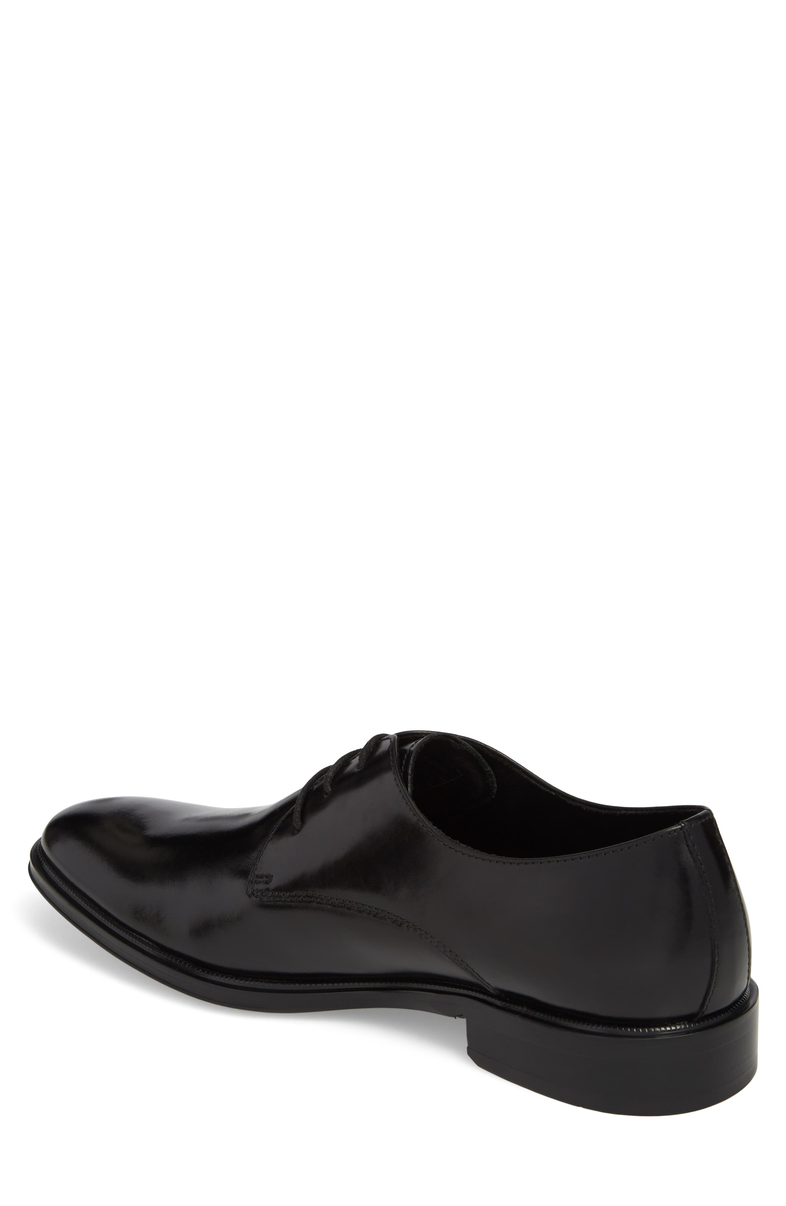 Kenneth Cole Tully Plain Toe Derby,                             Alternate thumbnail 2, color,                             001