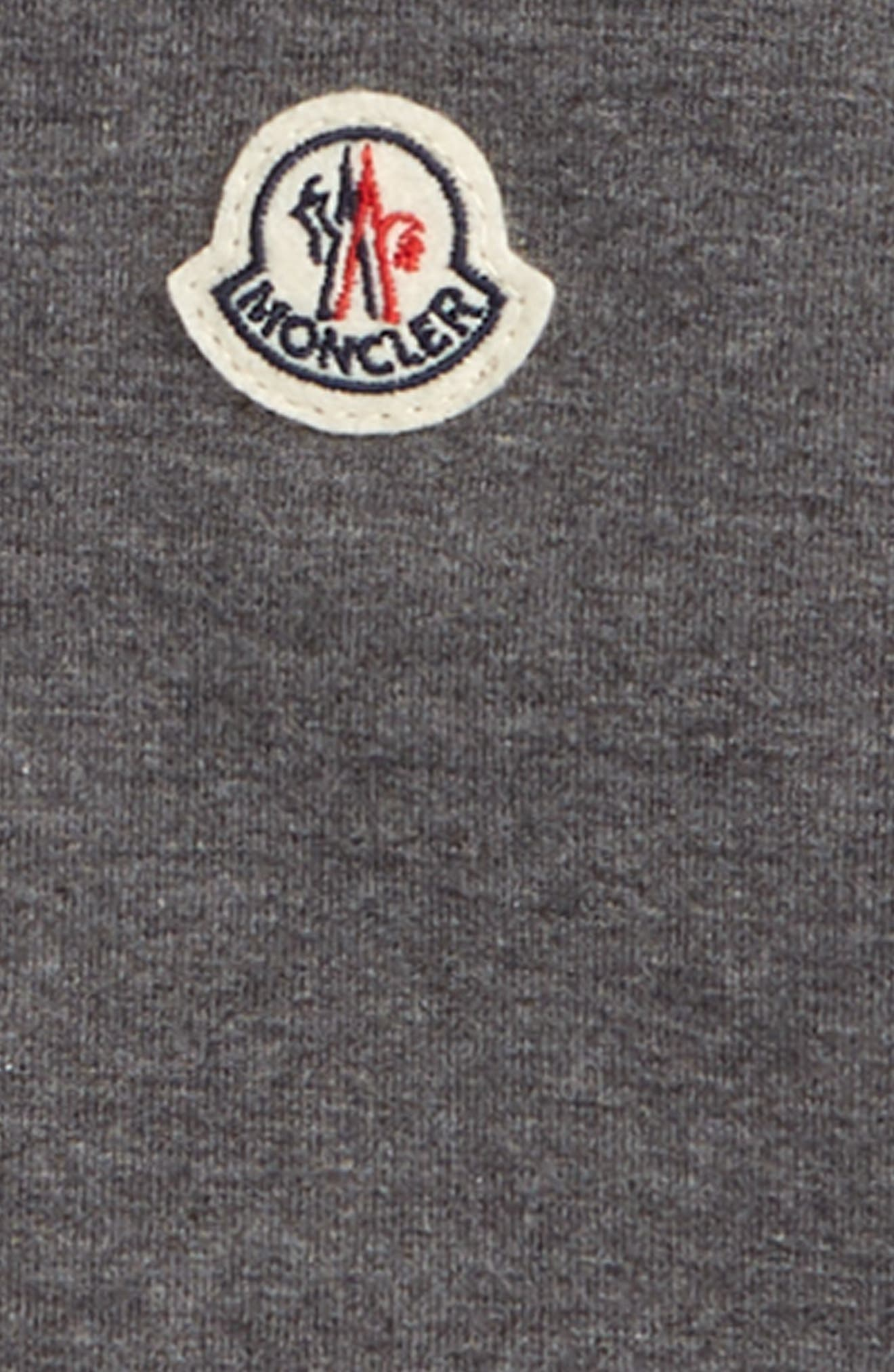 Maglia Zip Sweater,                             Alternate thumbnail 2, color,                             GREY