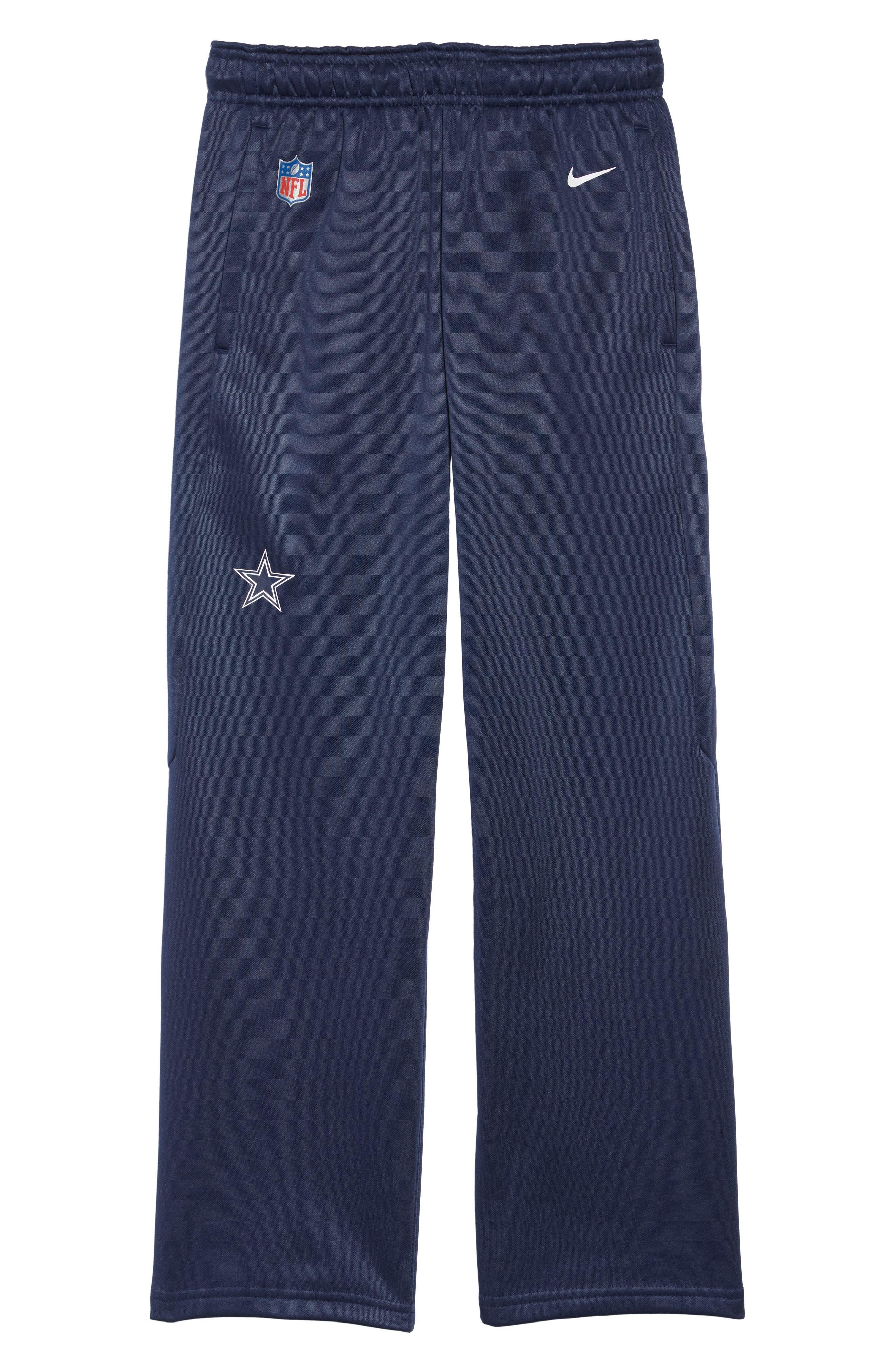 Nike NFL Dallas Cowboys Therma-FIT Pants,                         Main,                         color, NAVY