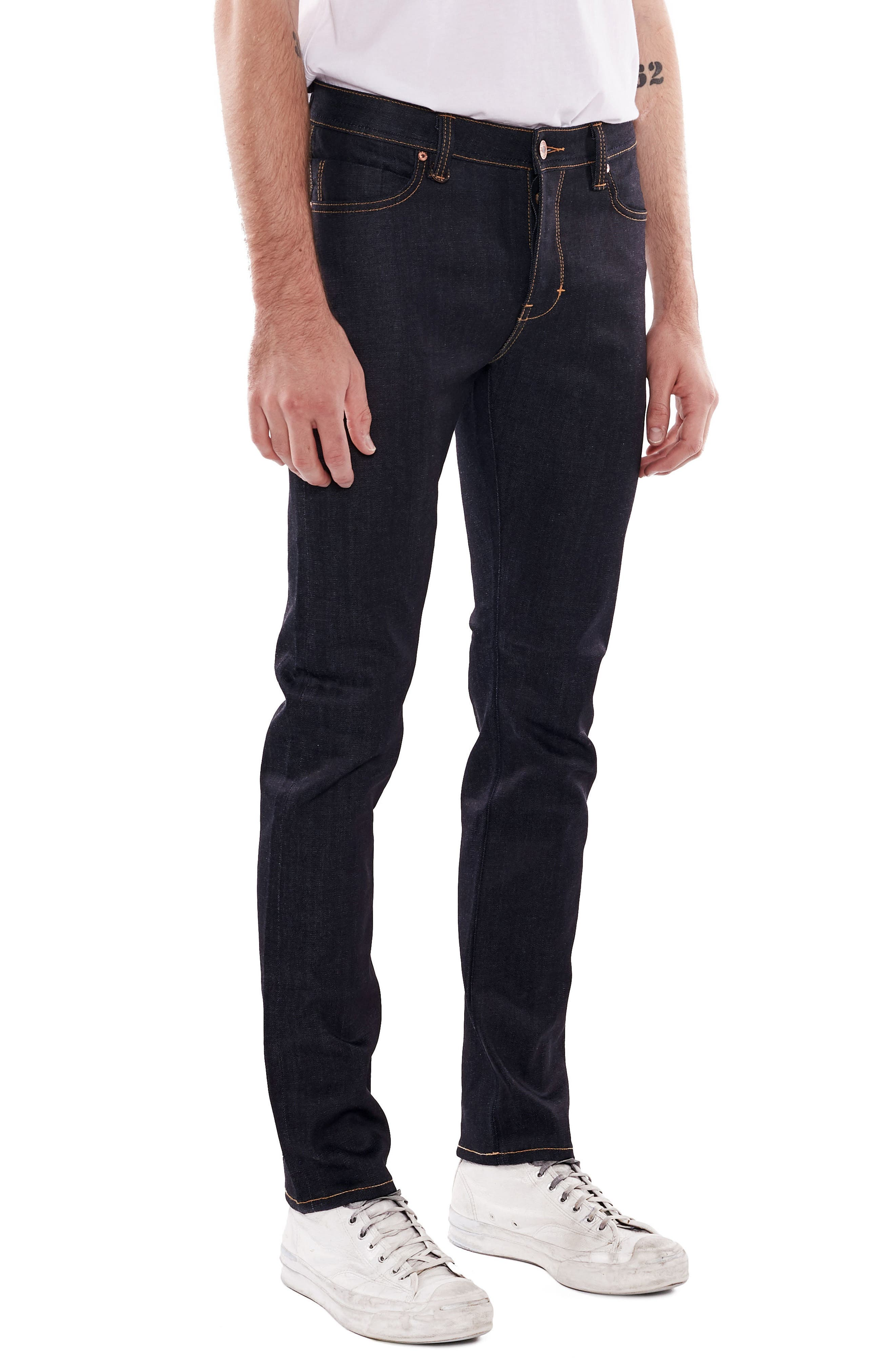 NEUW,                             Iggy Skinny Jeans,                             Alternate thumbnail 3, color,                             RAW STRETCH