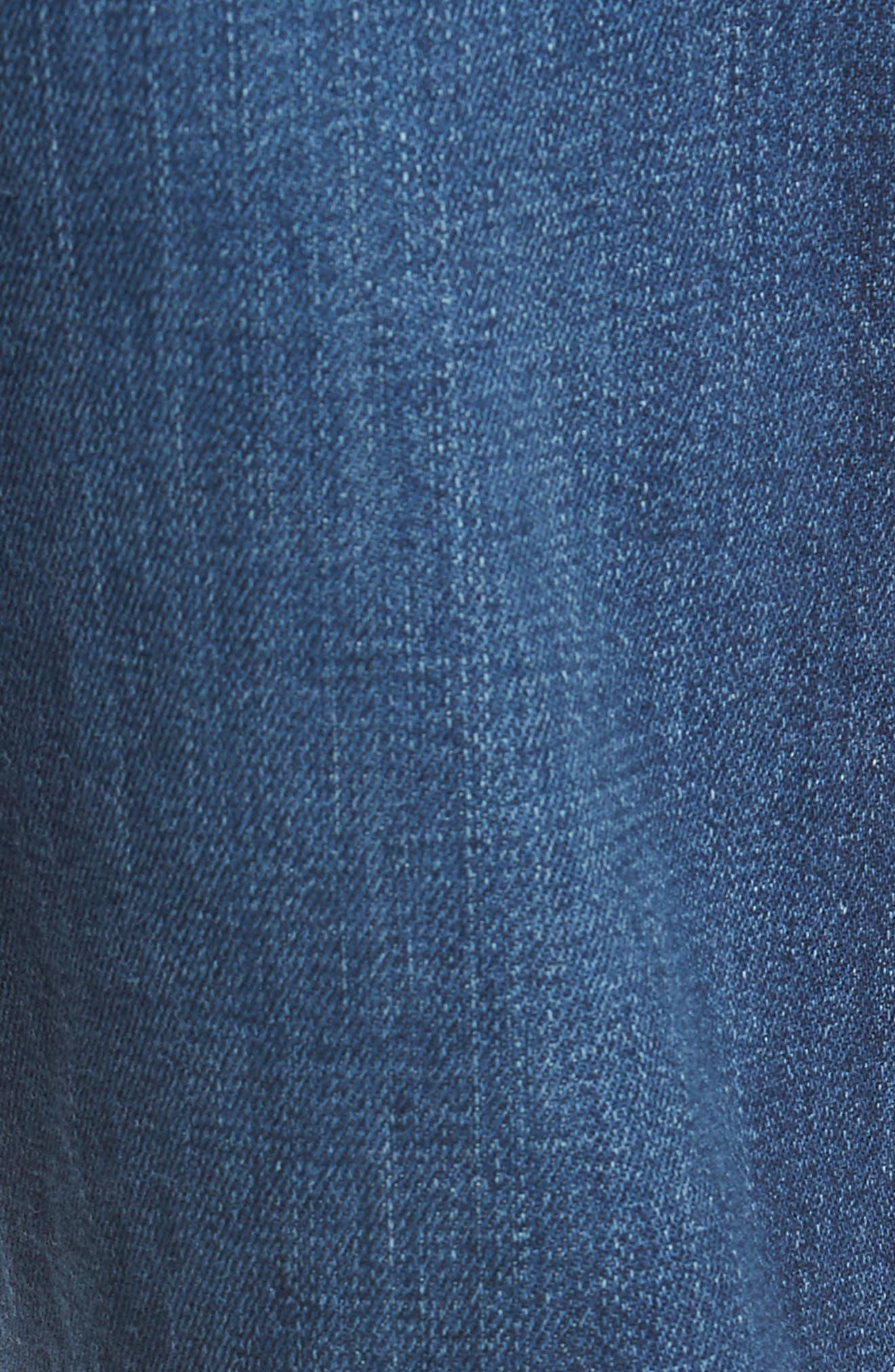 AG,                             Graduate Slim Straight Leg Jeans,                             Alternate thumbnail 5, color,                             7 YEAR CEASE